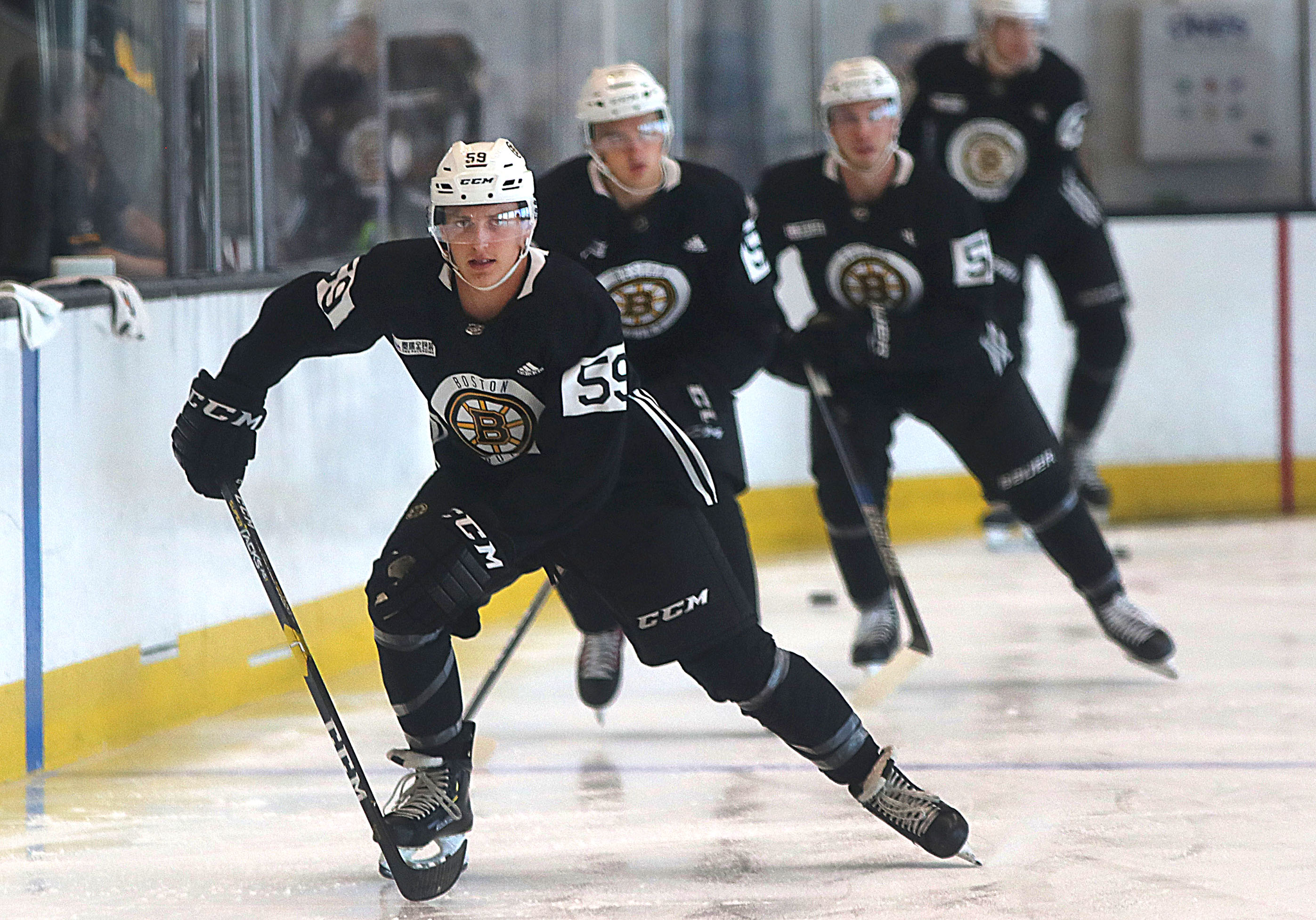 Cooper Zech hoping to measure up with Bruins