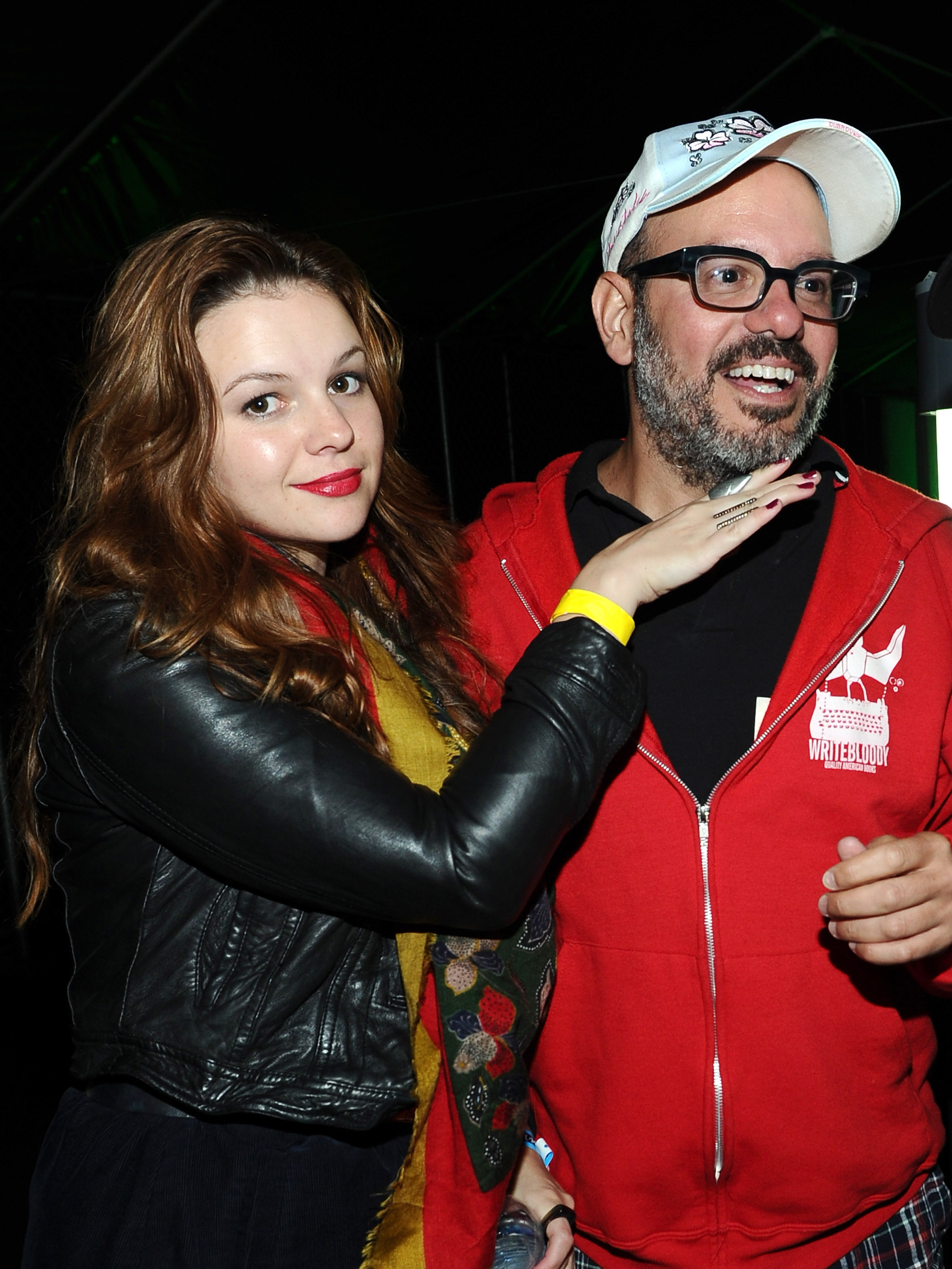 Amber Tamblyn Wedding.David Cross And Amber Tamblyn Get Married The Boston Globe