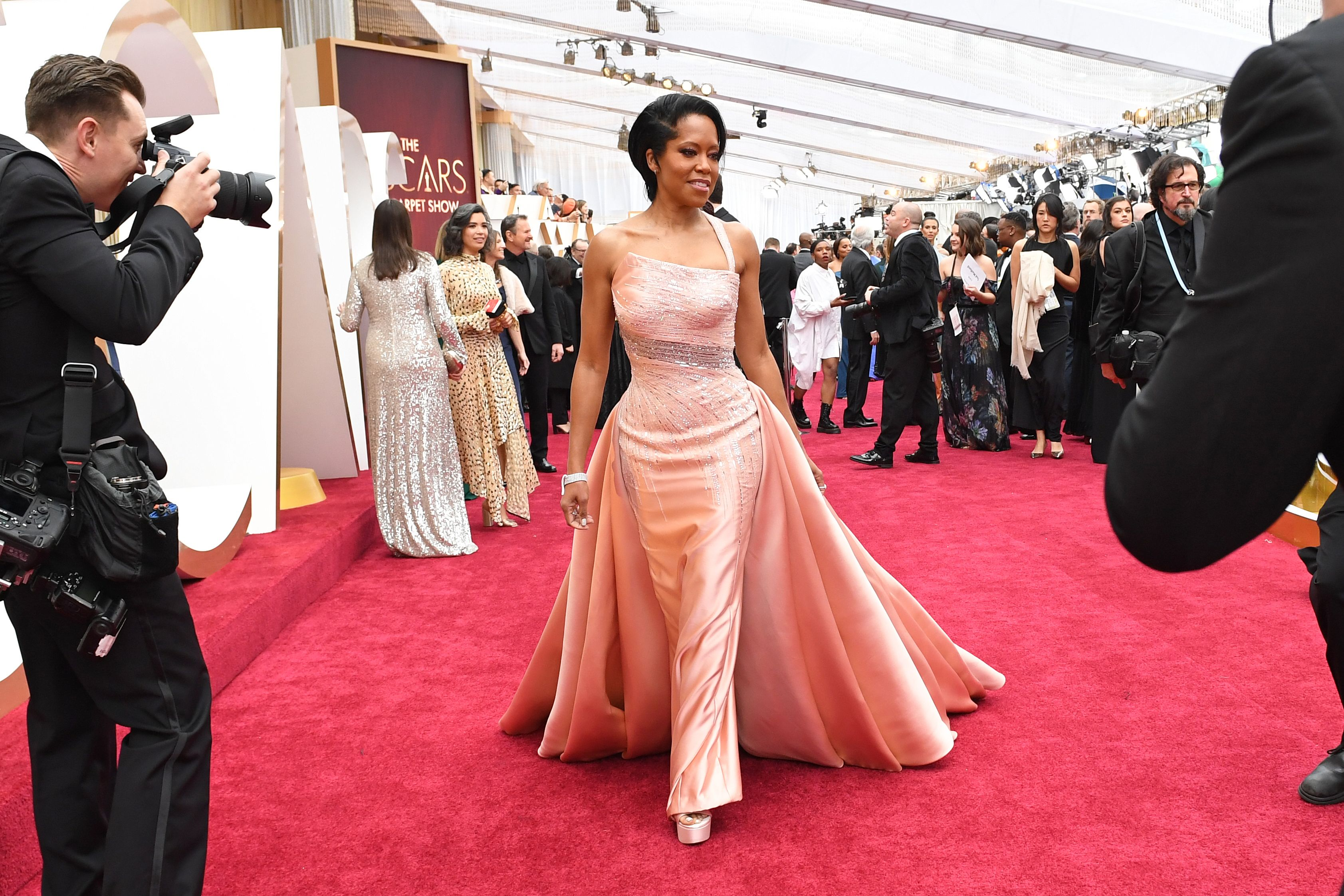Hits (and misses) on the Oscars red