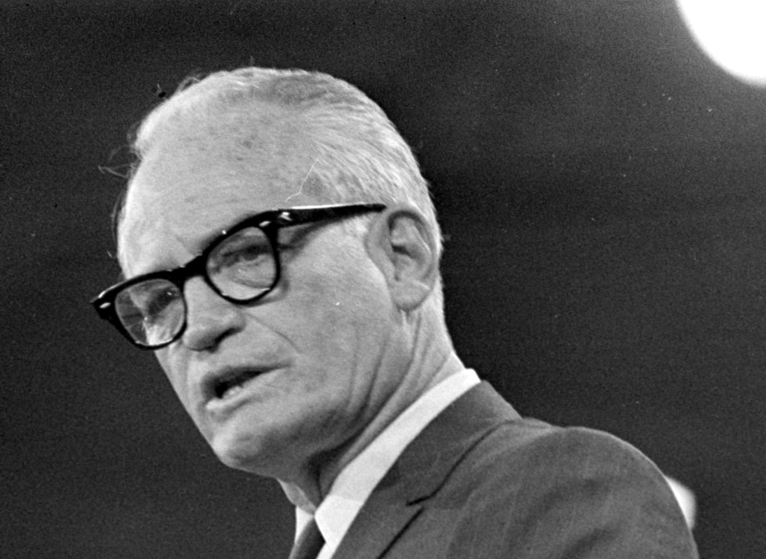 Liberals now love Barry Goldwater, but his 1964 loss won the GOP's ...
