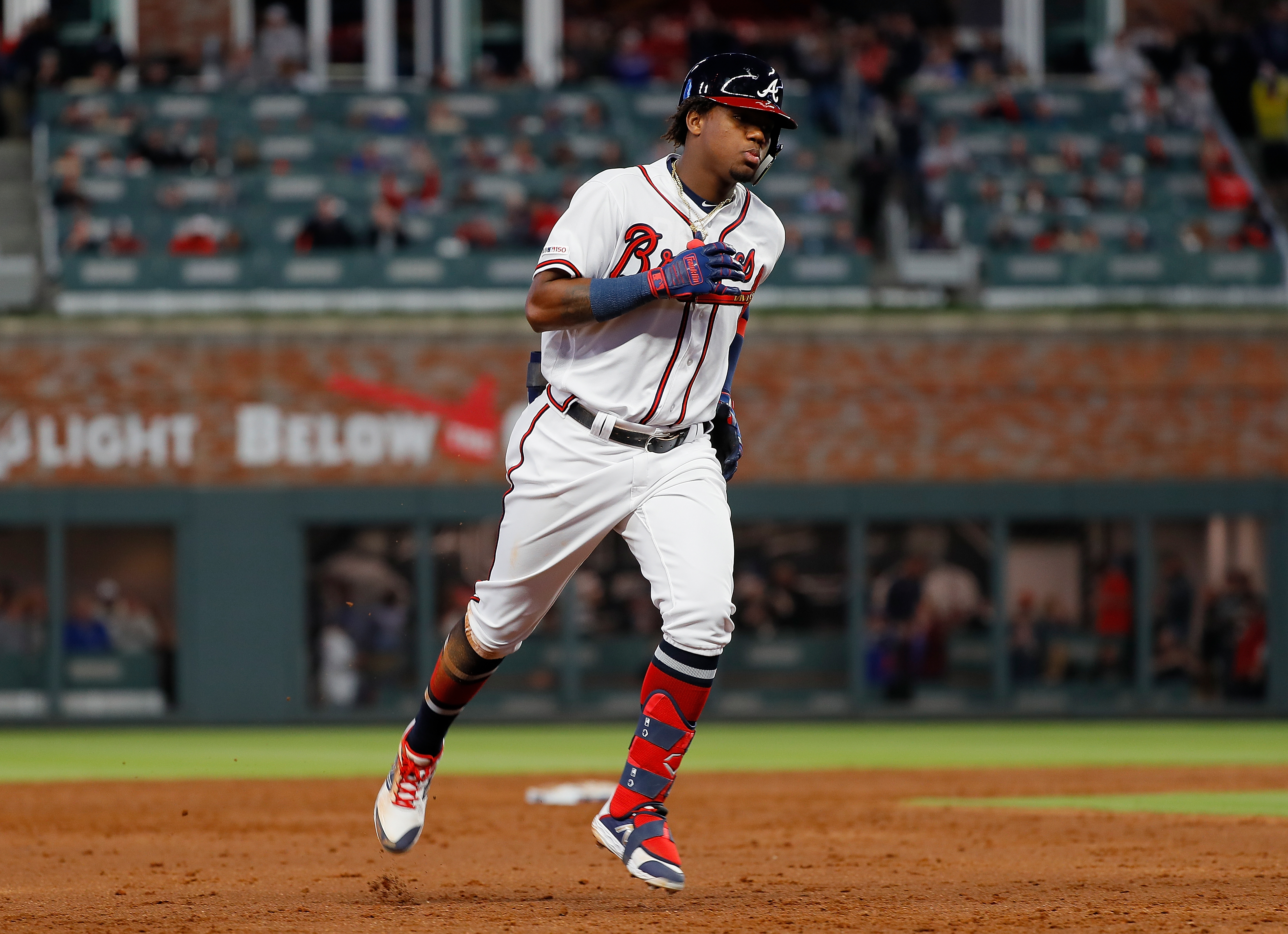 online store f9397 8f882 Ronald Acuna Jr., 21, Braves make history with $100 million ...