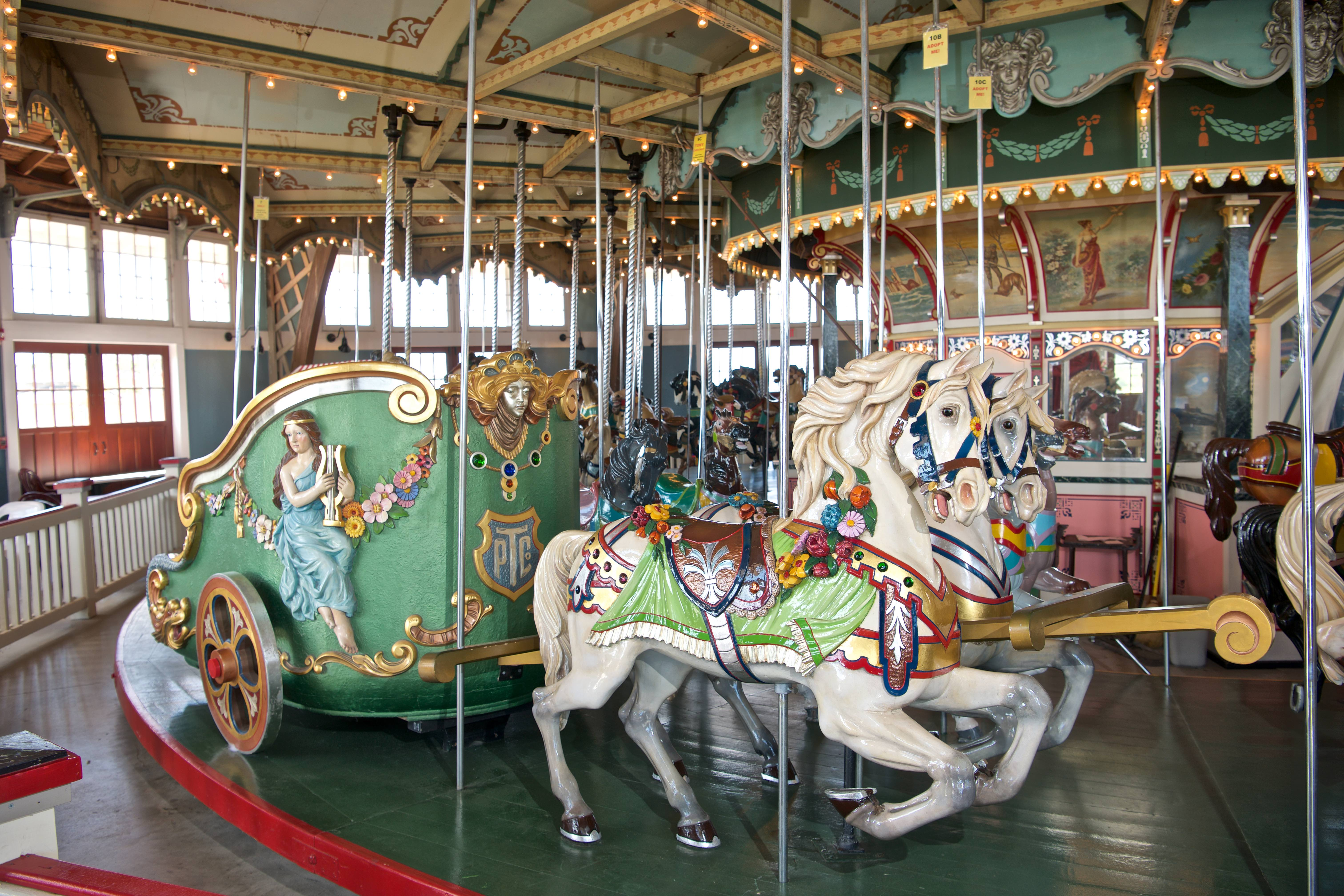 Paragon Carousel will open for the season this weekend (but
