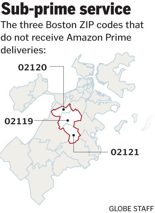 Why doesn't Amazon offer same-day delivery in Roxbury? - The Boston