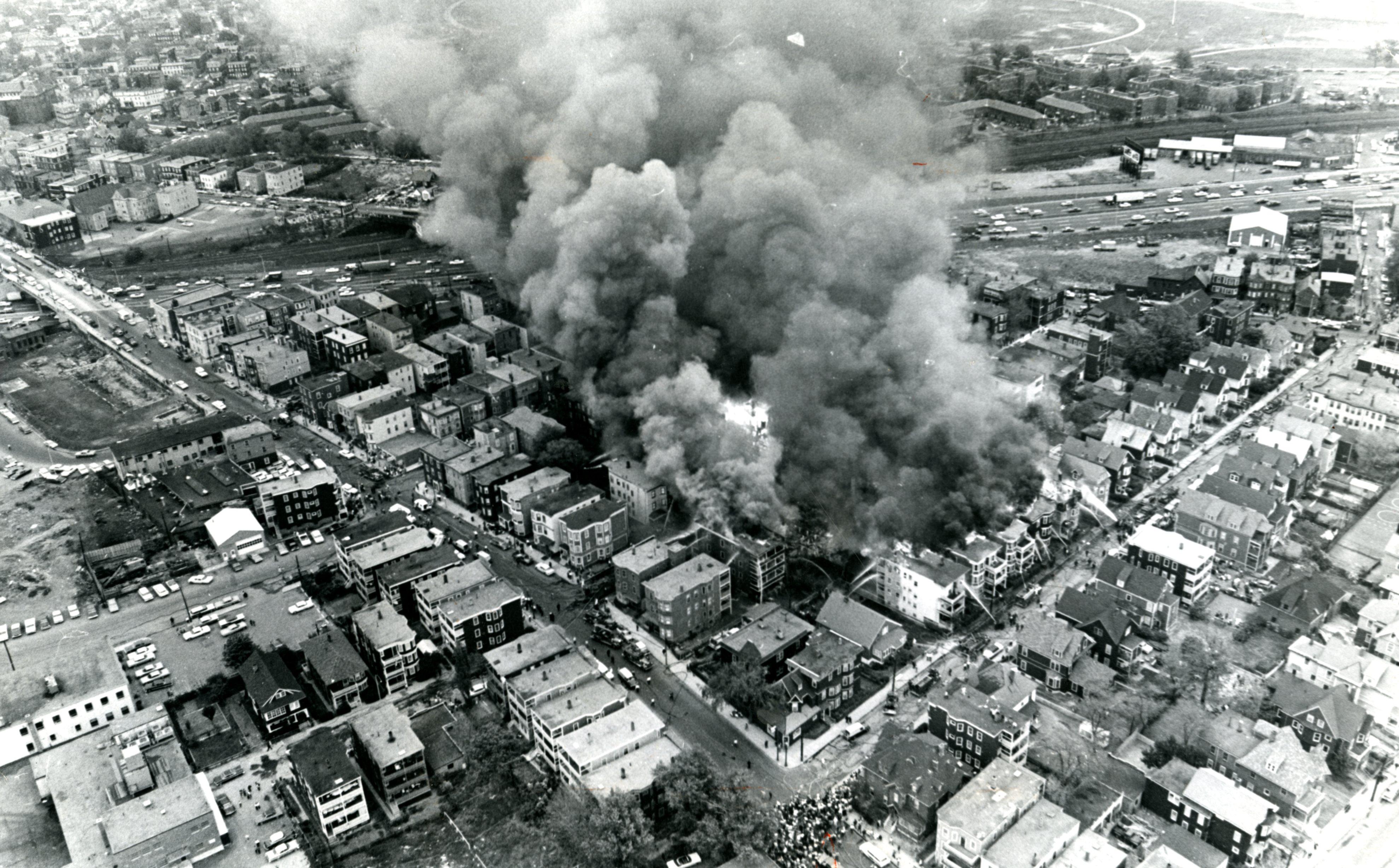 Devastating 1964 Dorchester fire recalled - The Boston Globe
