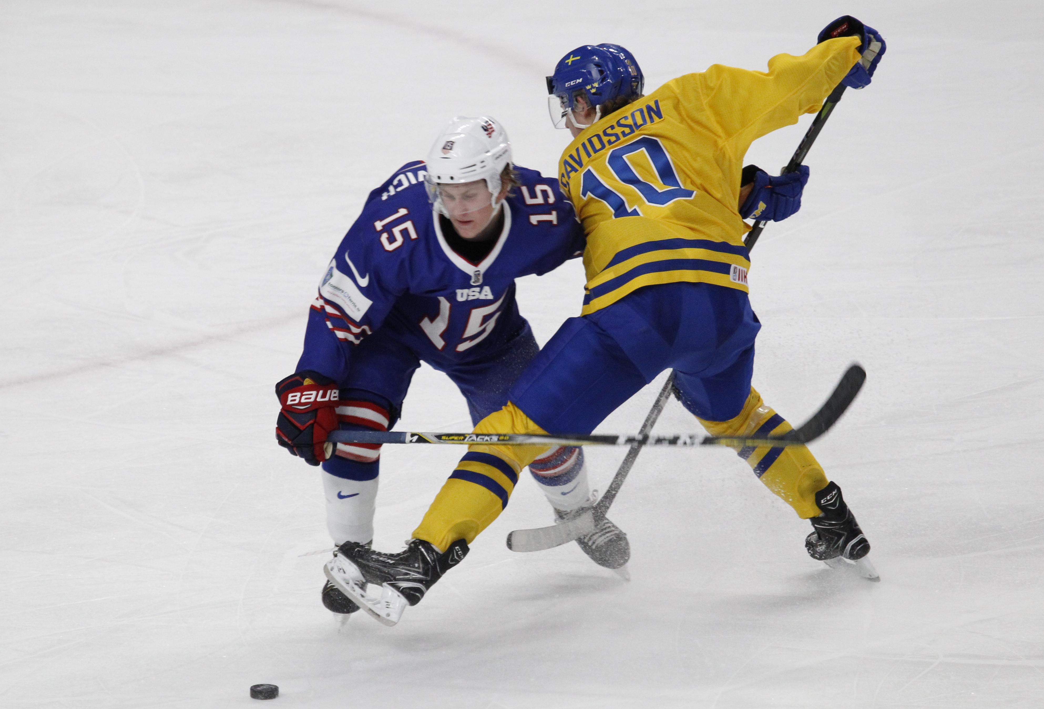 664f1dc97fa Sweden routs US in World Juniors semifinal - The Boston Globe