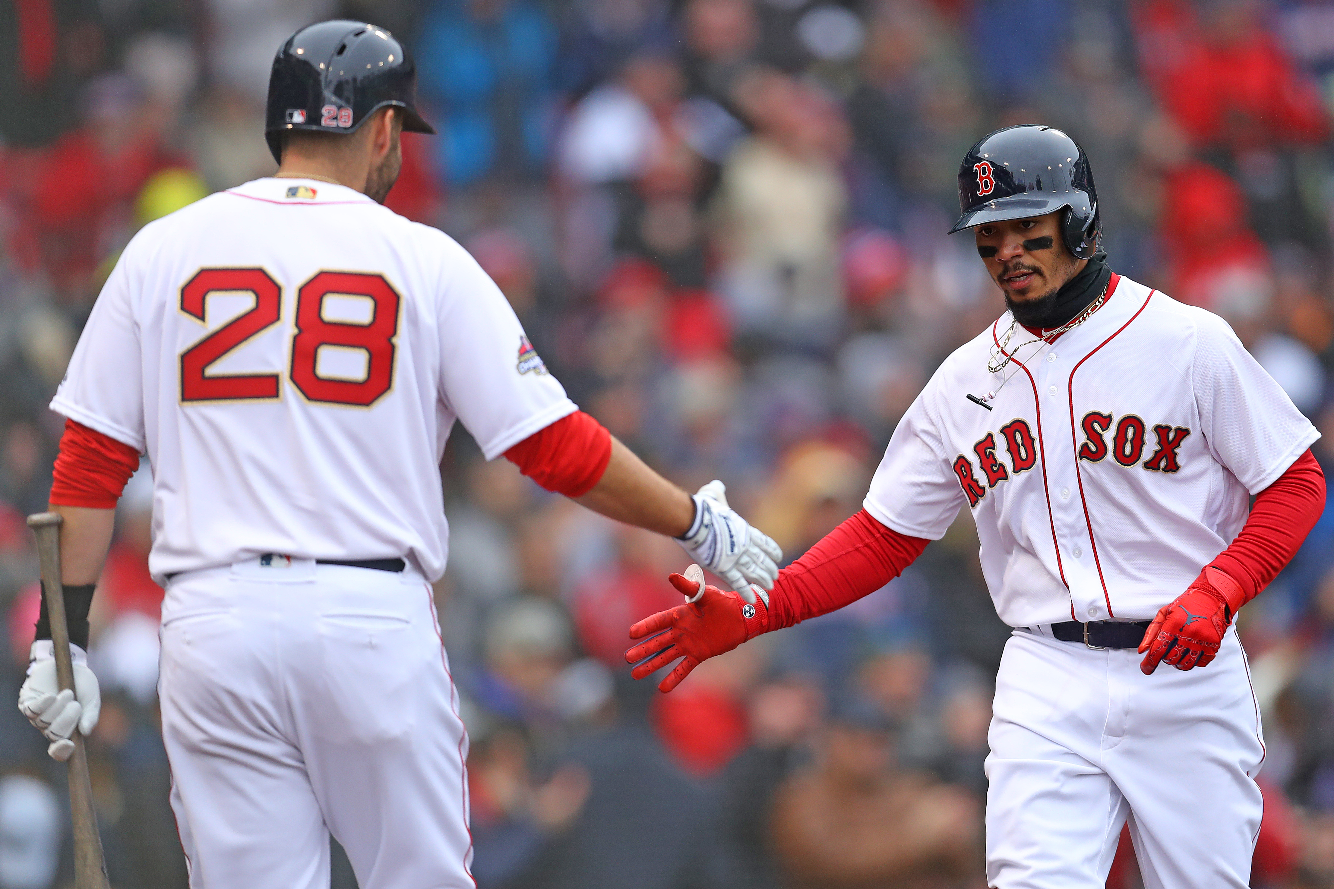 factory price 83748 71a37 Mookie Betts, J.D. Martinez named to AL All-Star team - The ...