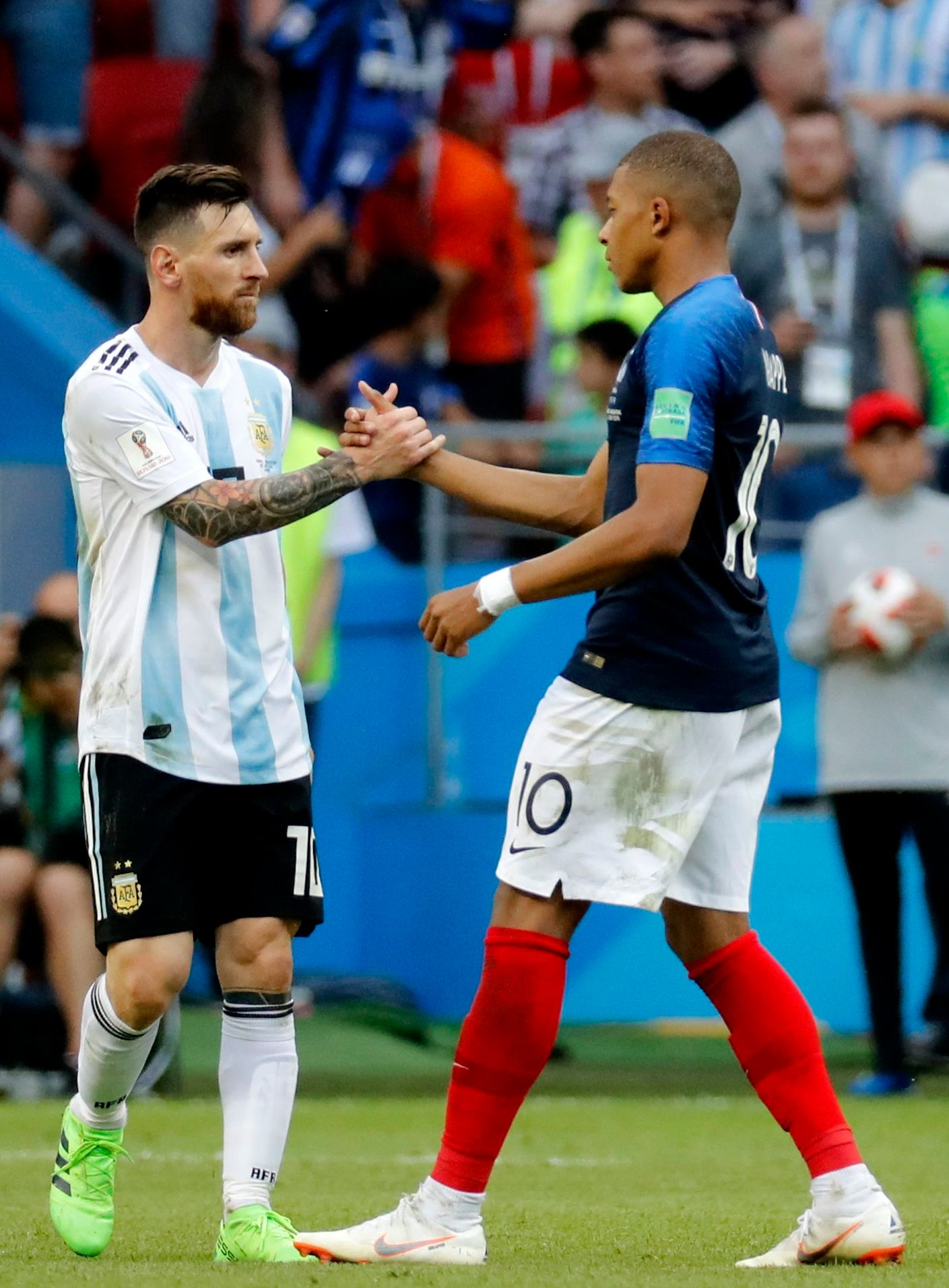 Kylian Mbappe Leads France Past Messis Argentina And Into