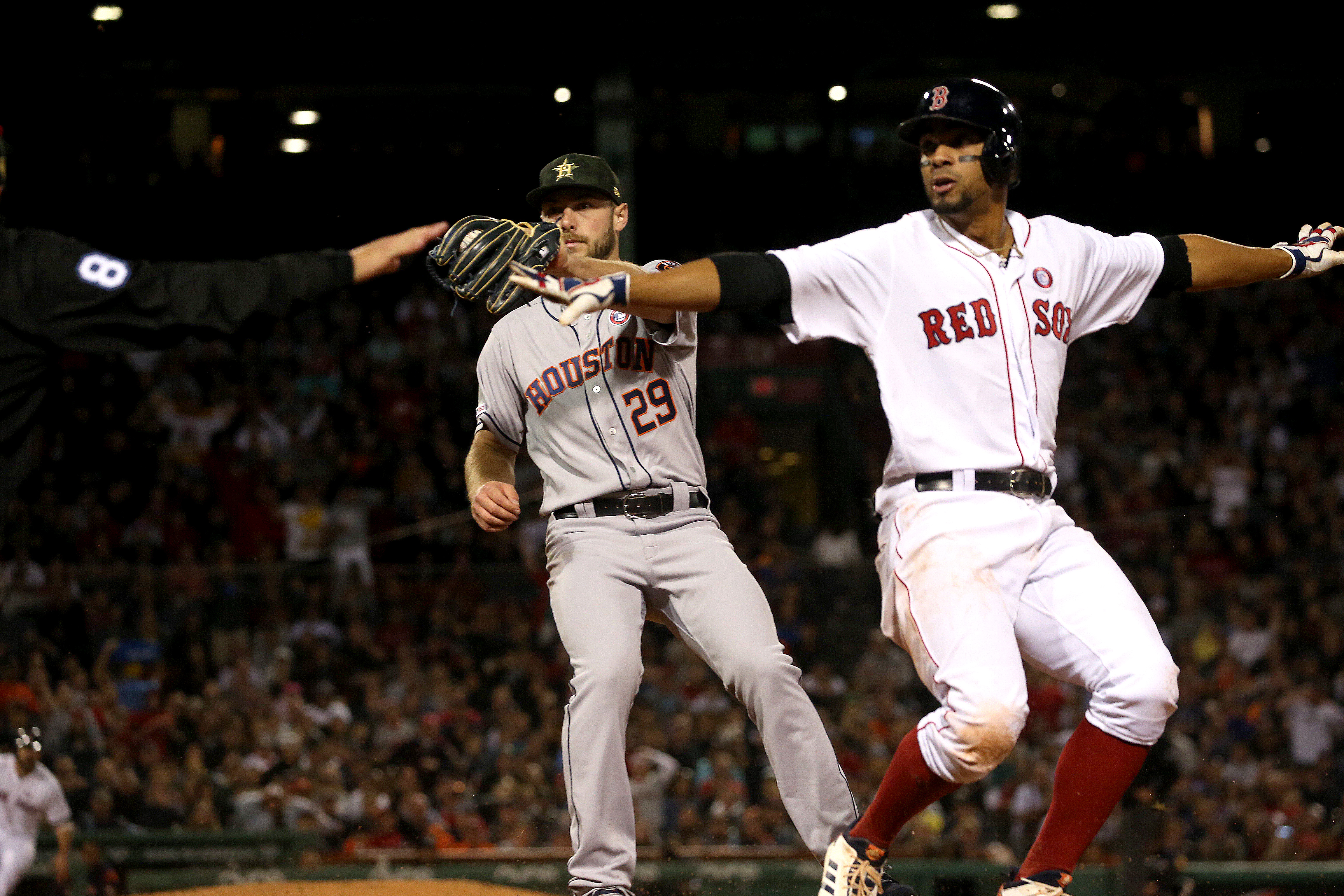 Five-run first by torrid Houston too much to overcome - The Boston Globe