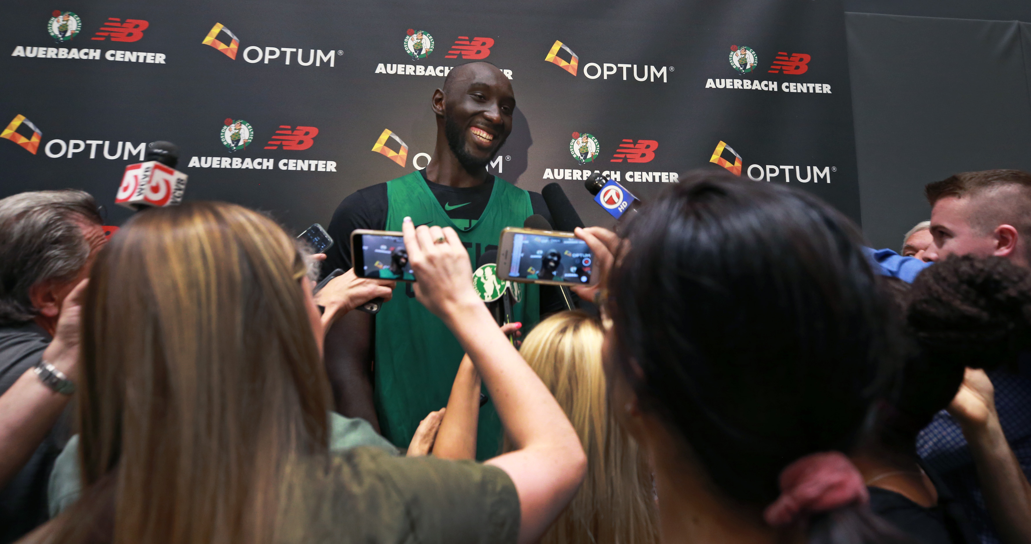 Tacko Fall impresses again for Celtics in win over Cavaliers