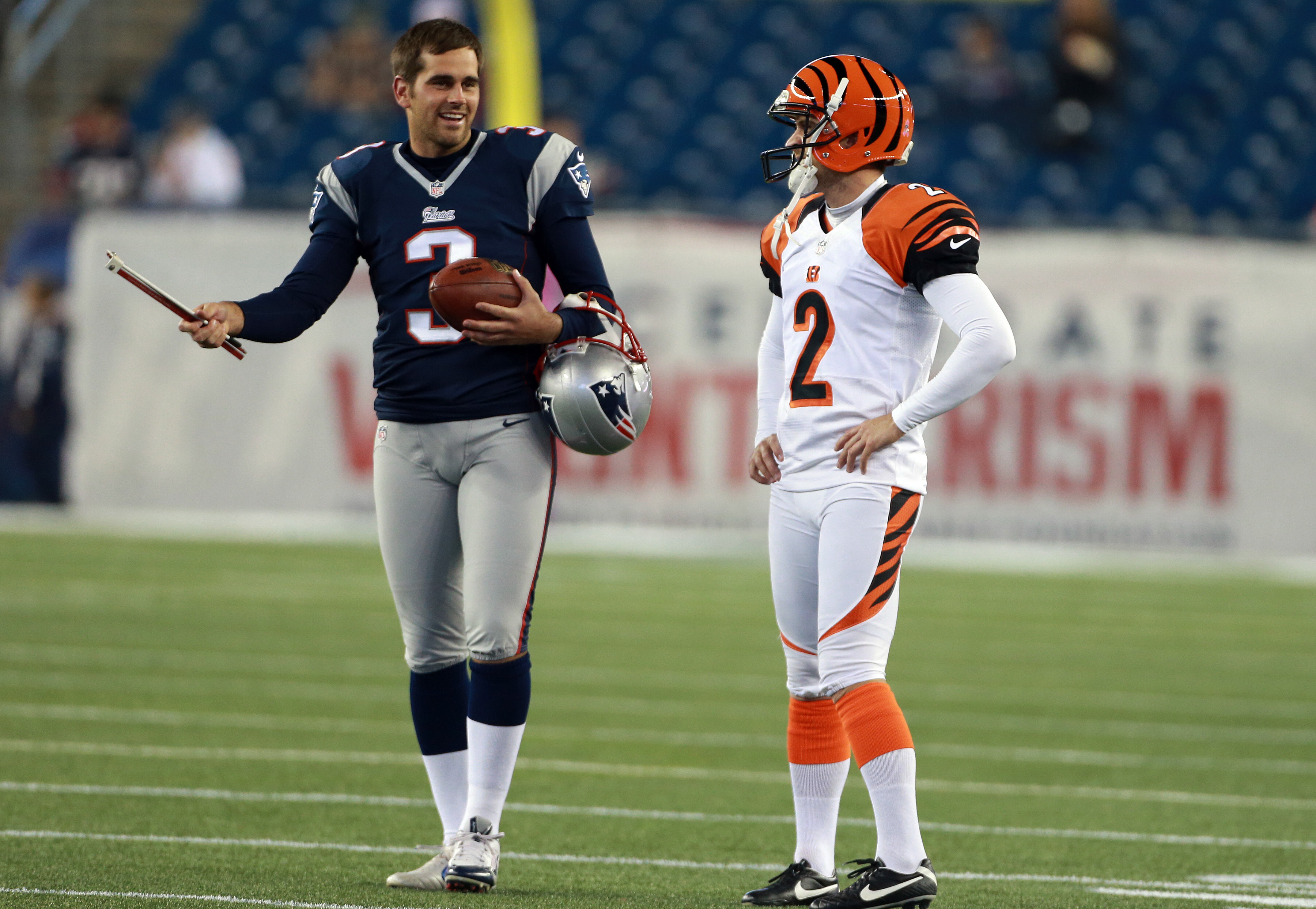 What you need to know about new Patriots kicker Mike Nugent