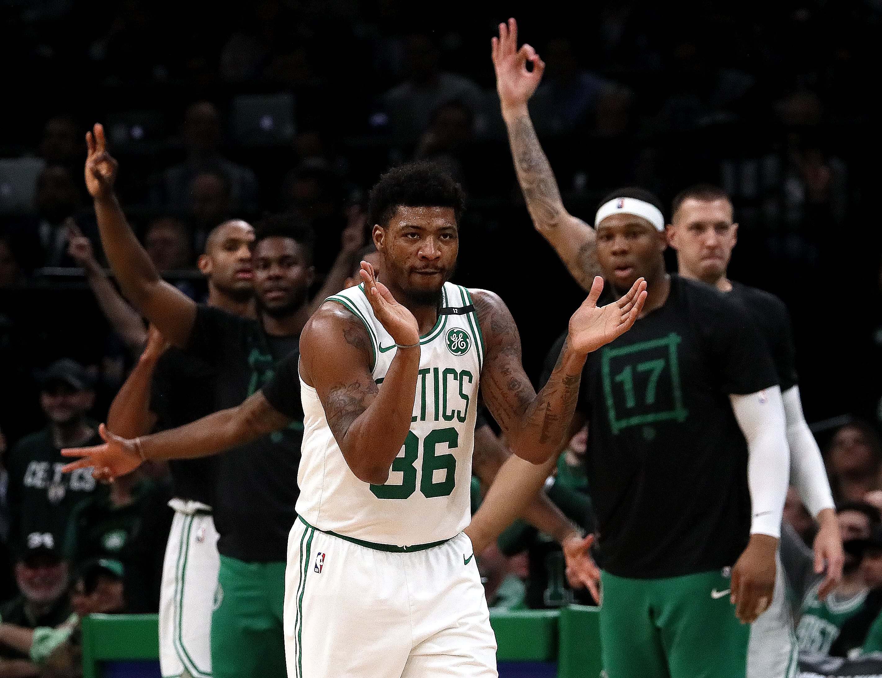 bostonglobe.com - Adam Himmelsbach - 'I'm blessed to still be here.' Amid change, Marcus Smart remains Celtics' constant