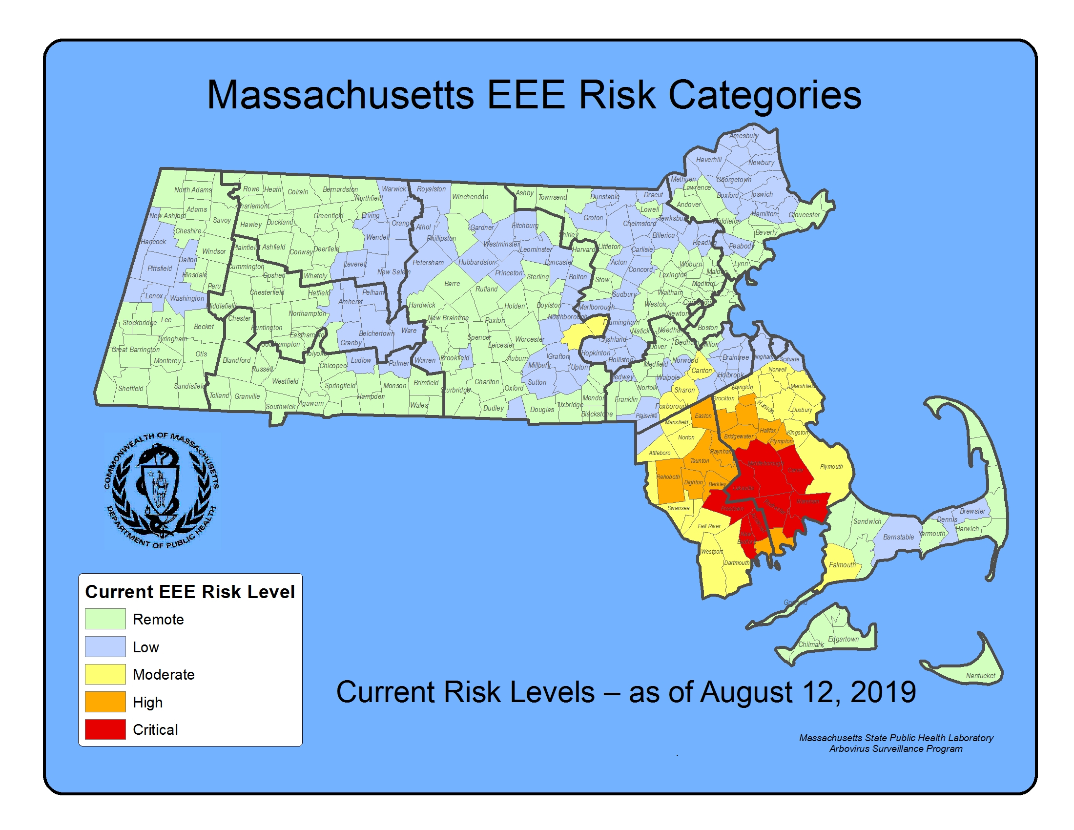 It S Code Red For Eee In Nine Communities South Of Boston The