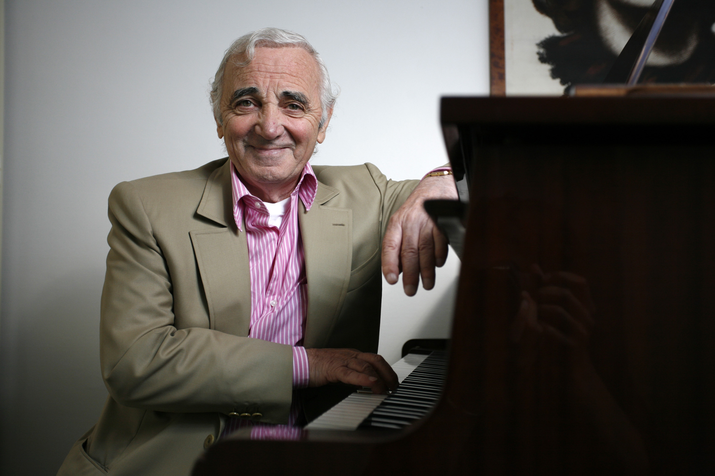 Charles Aznavour, enduring French singer with global reach