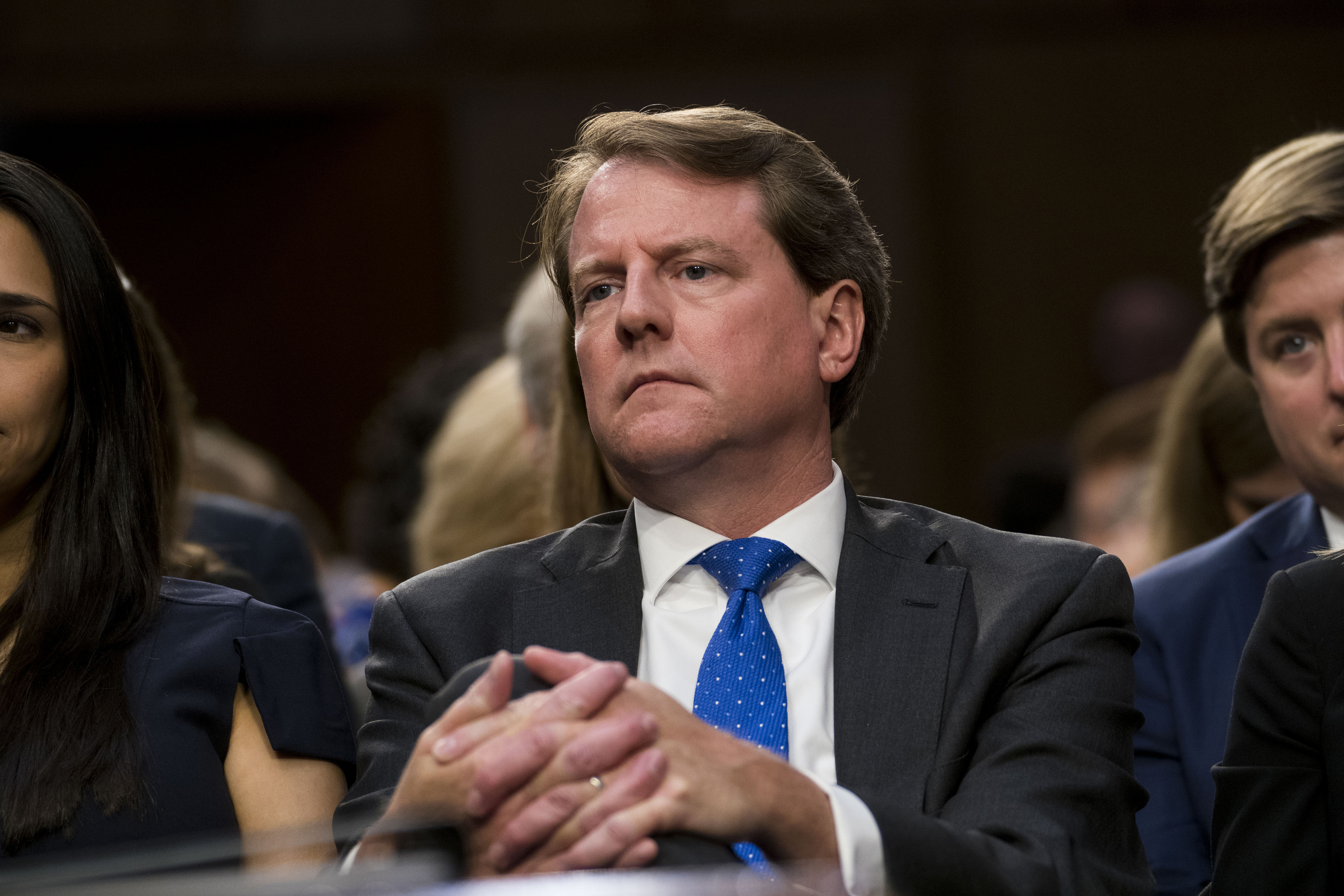 McGahn won't testify before House panel, as conflict between Democrats and Trump deepens