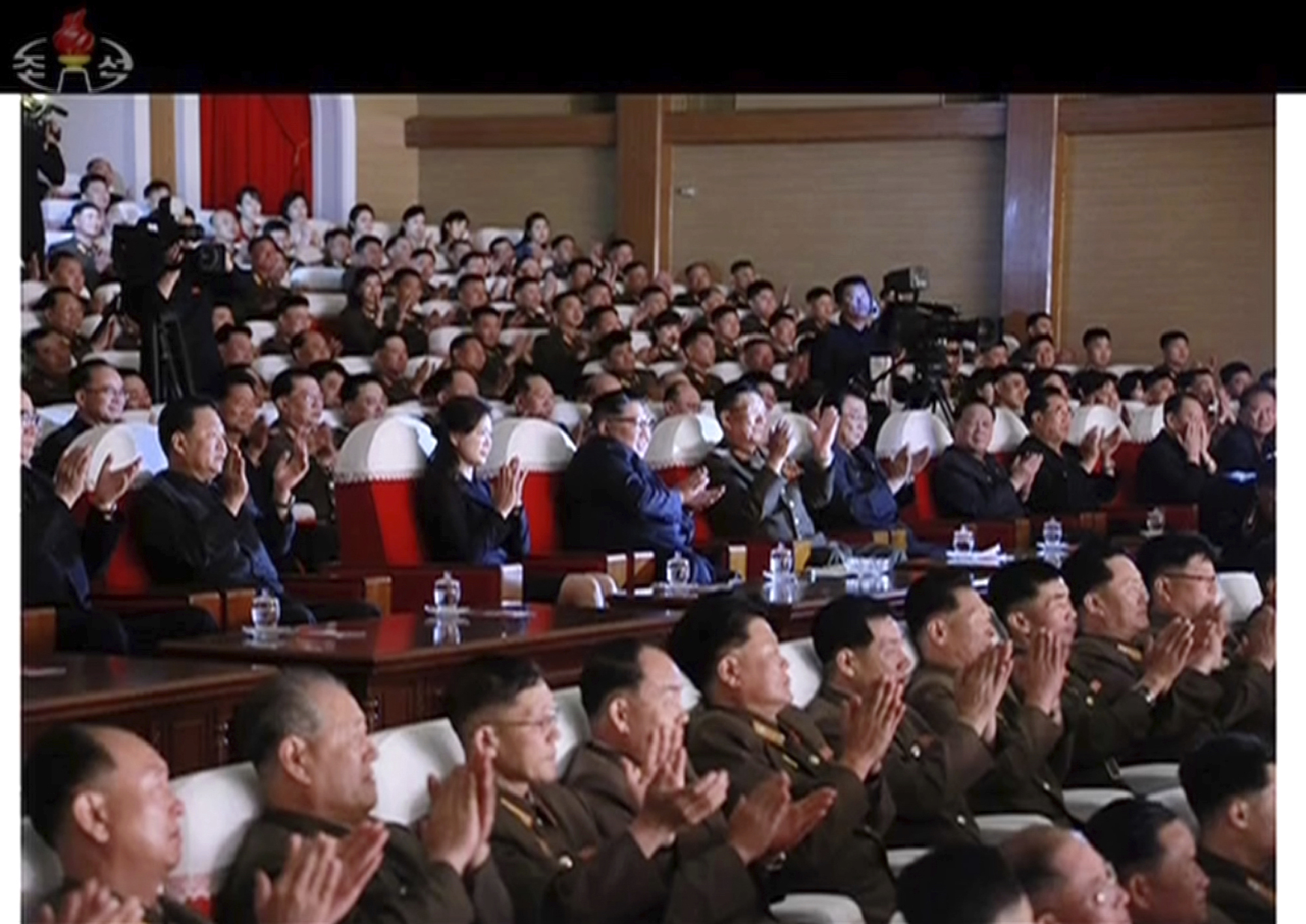 Top North Korean official reappears days after purge report