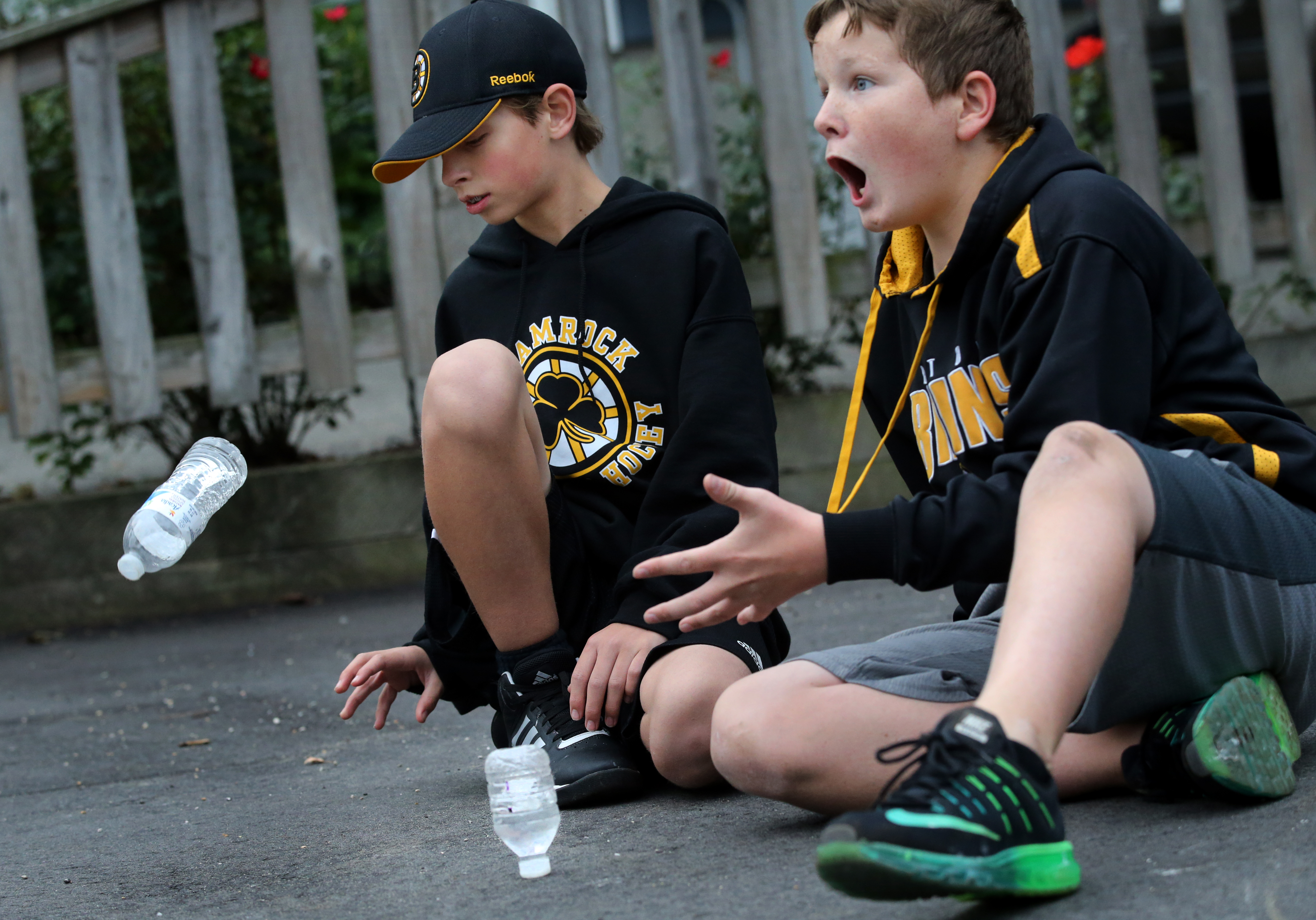 a705a4d174 Bottle flipping becomes the rage with middle schoolers - The Boston Globe