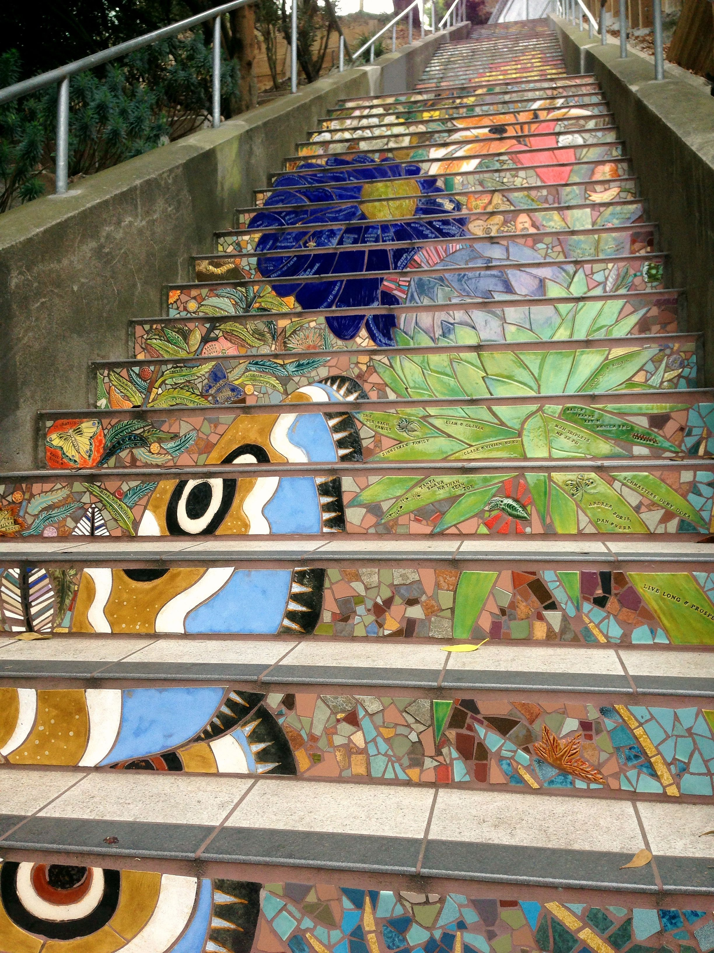 the tip  san francisco u2019s mosaic steps