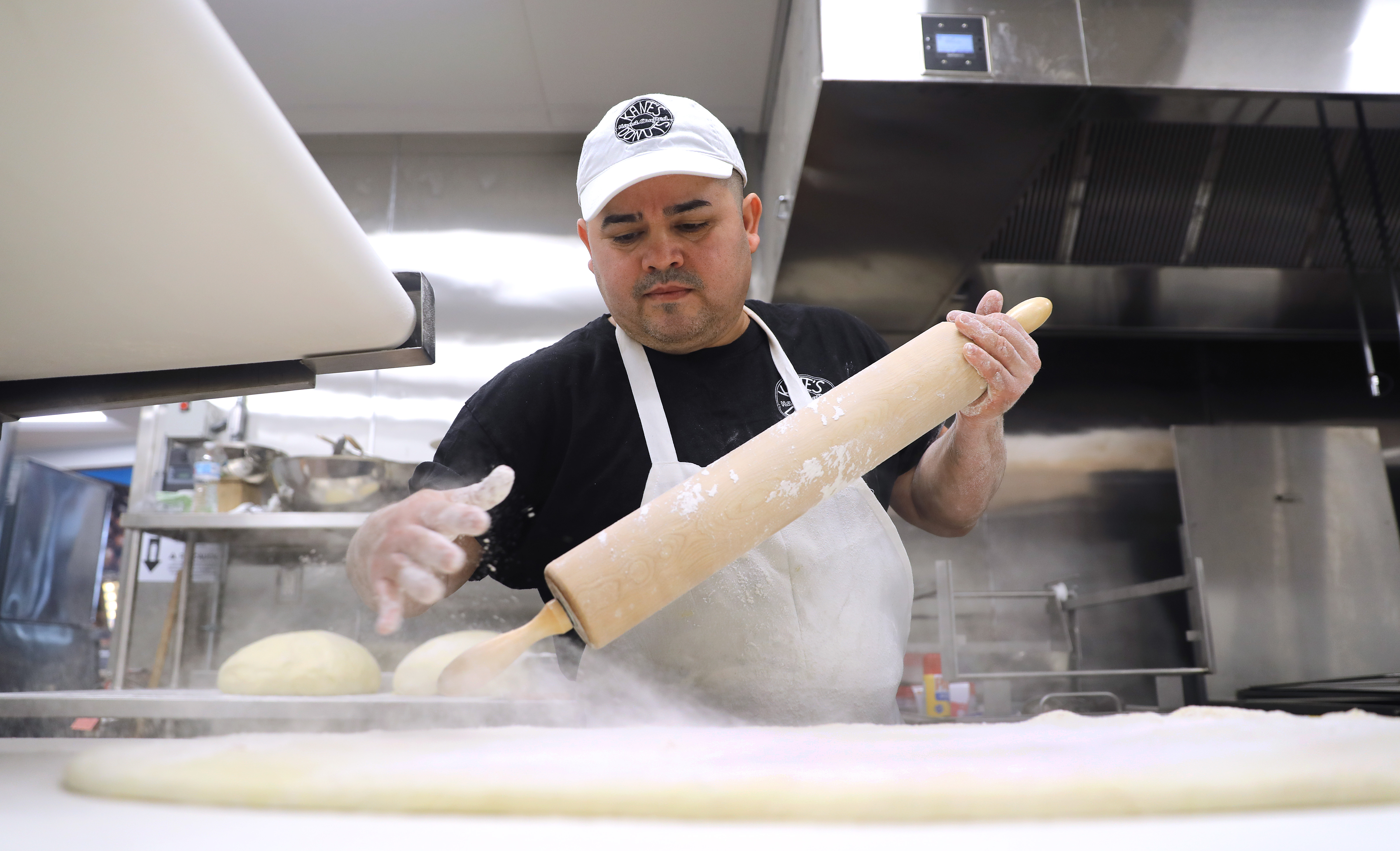 Kane S Starts Making Doughnuts Off Route 1 Next To The