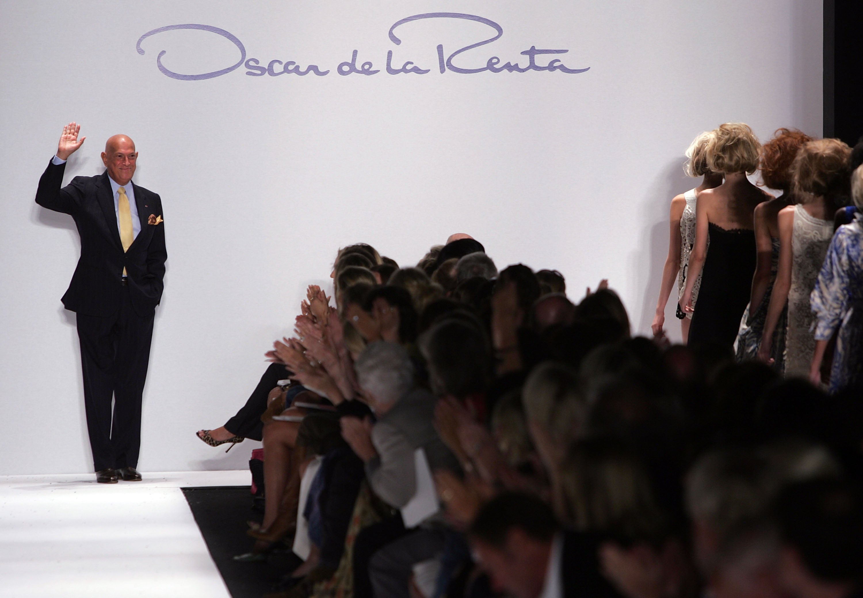 Oscar De La Renta At 82 Fashion Designer To Socialites Stars The Boston Globe