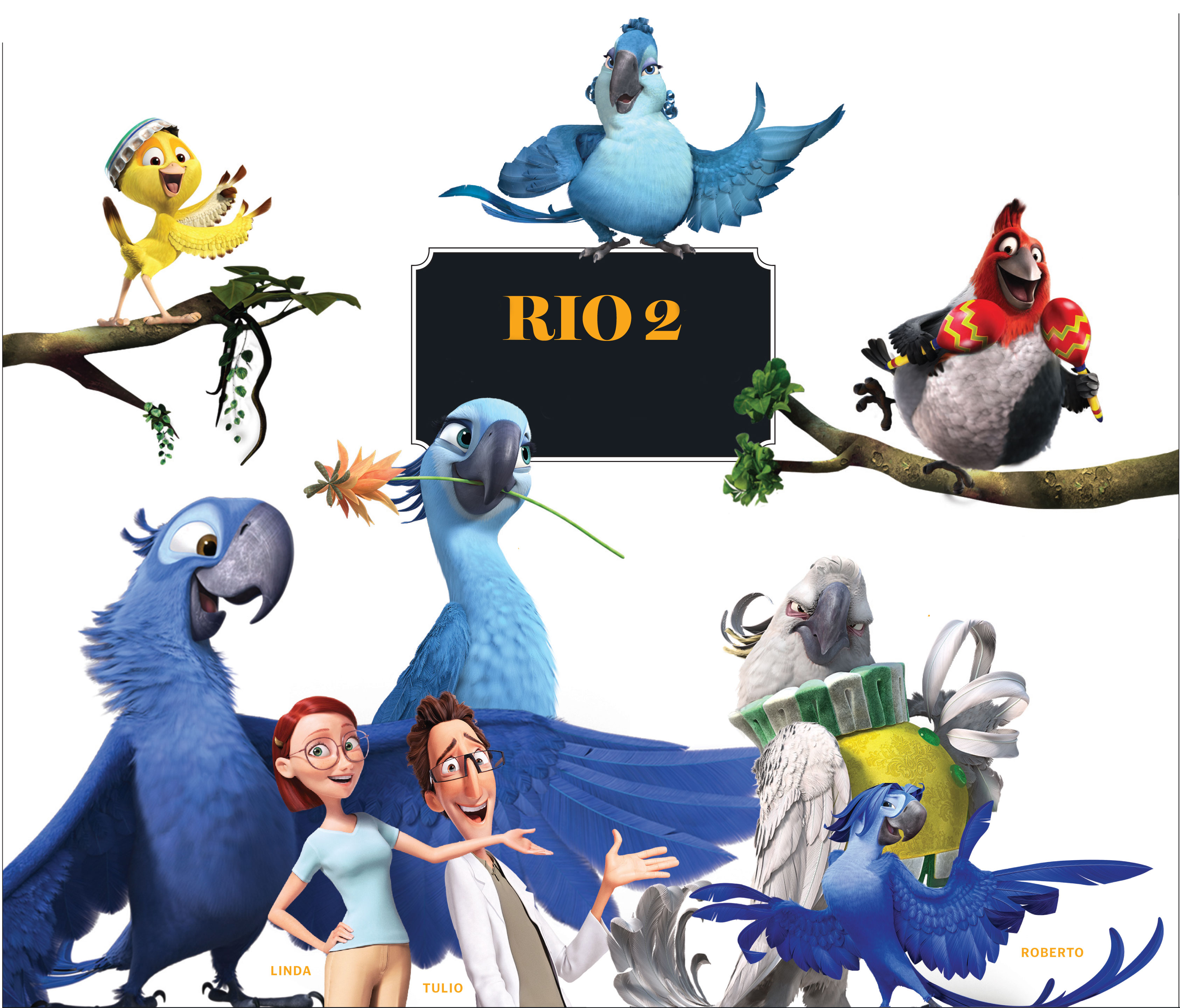21+ Tulio Rio Movie Characters Wallpapers
