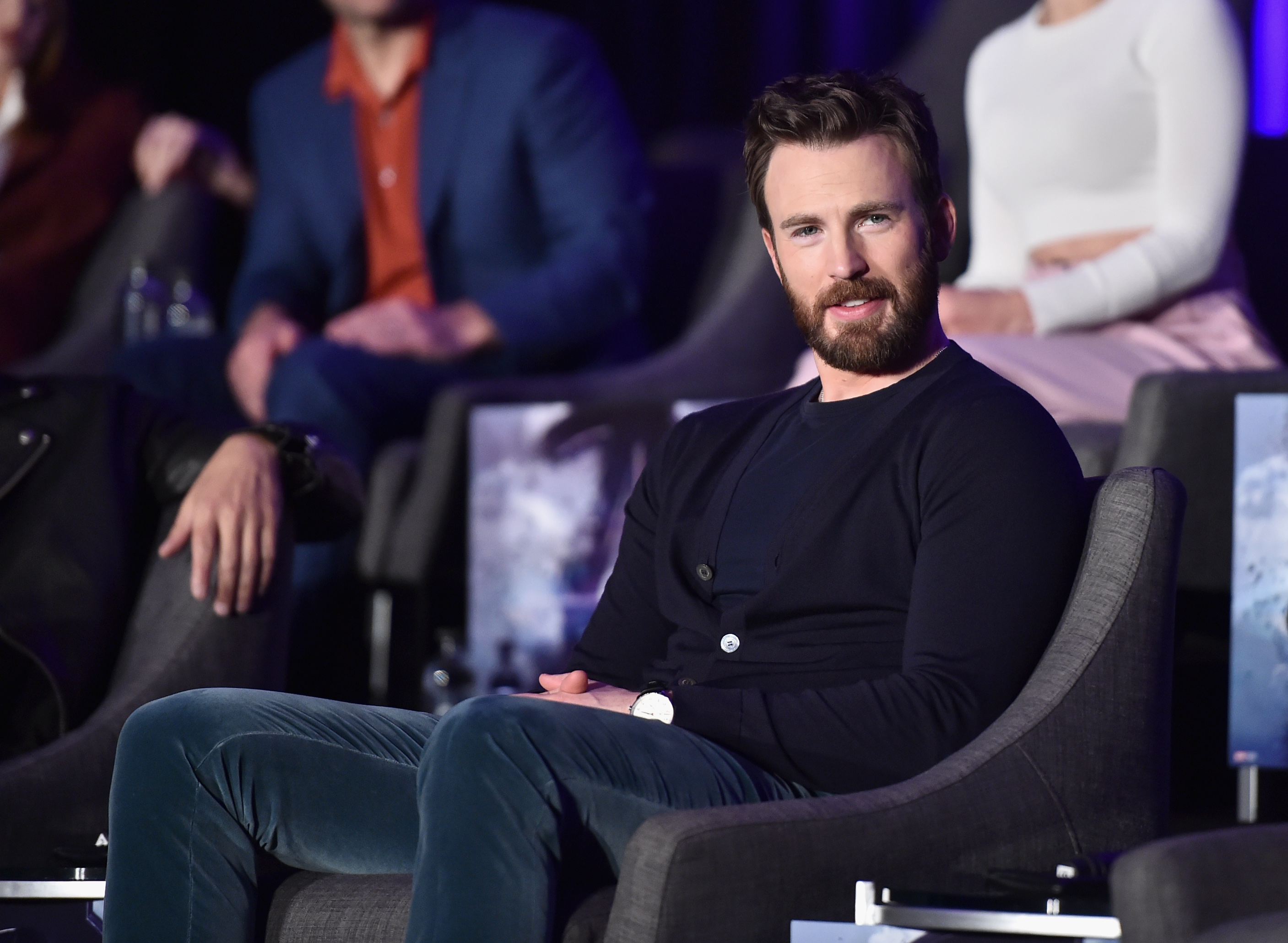 Here's why Chris Evans was meeting with members of Congress
