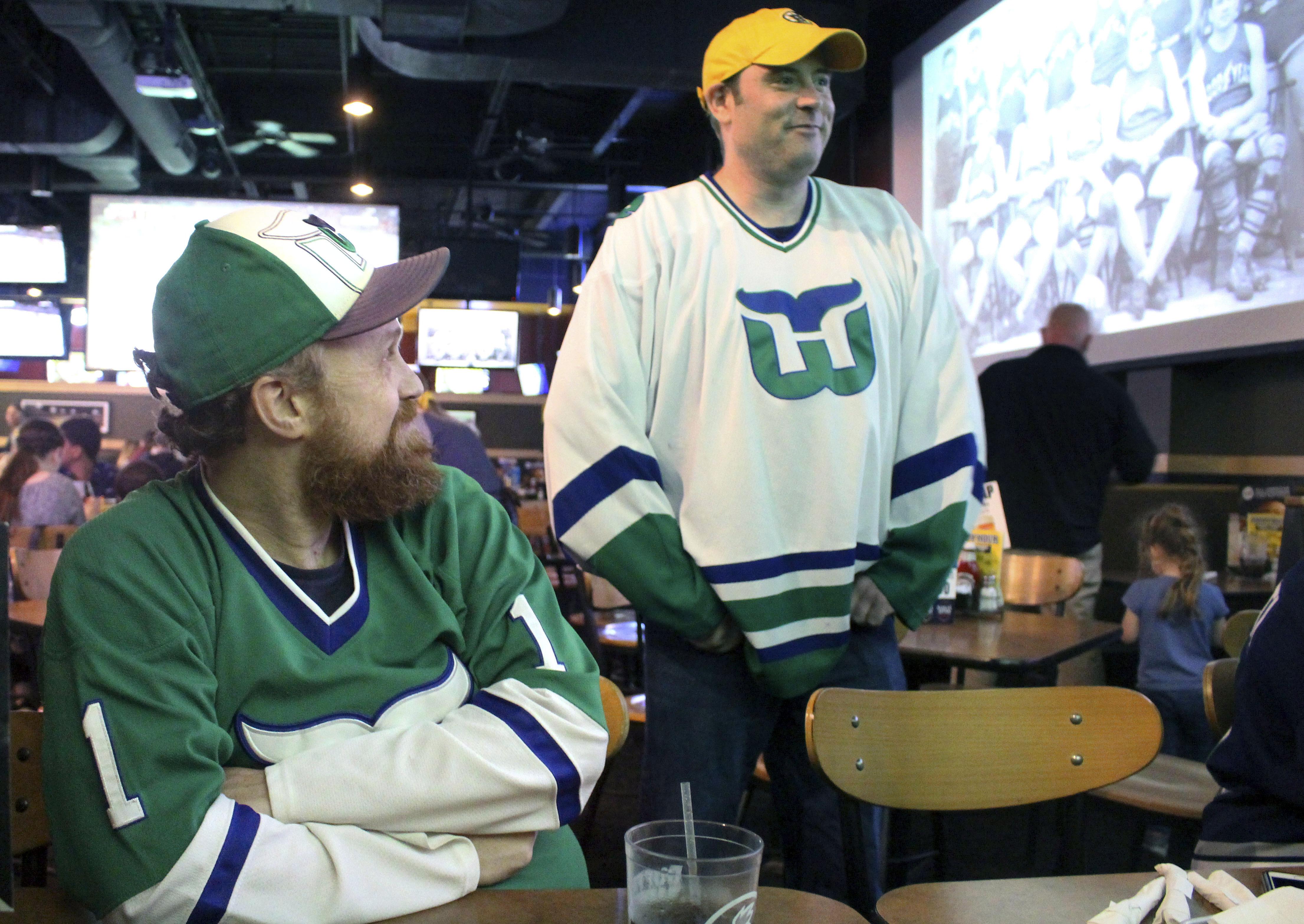 Loyal NHL fans in Hartford haven't forgotten Whalers