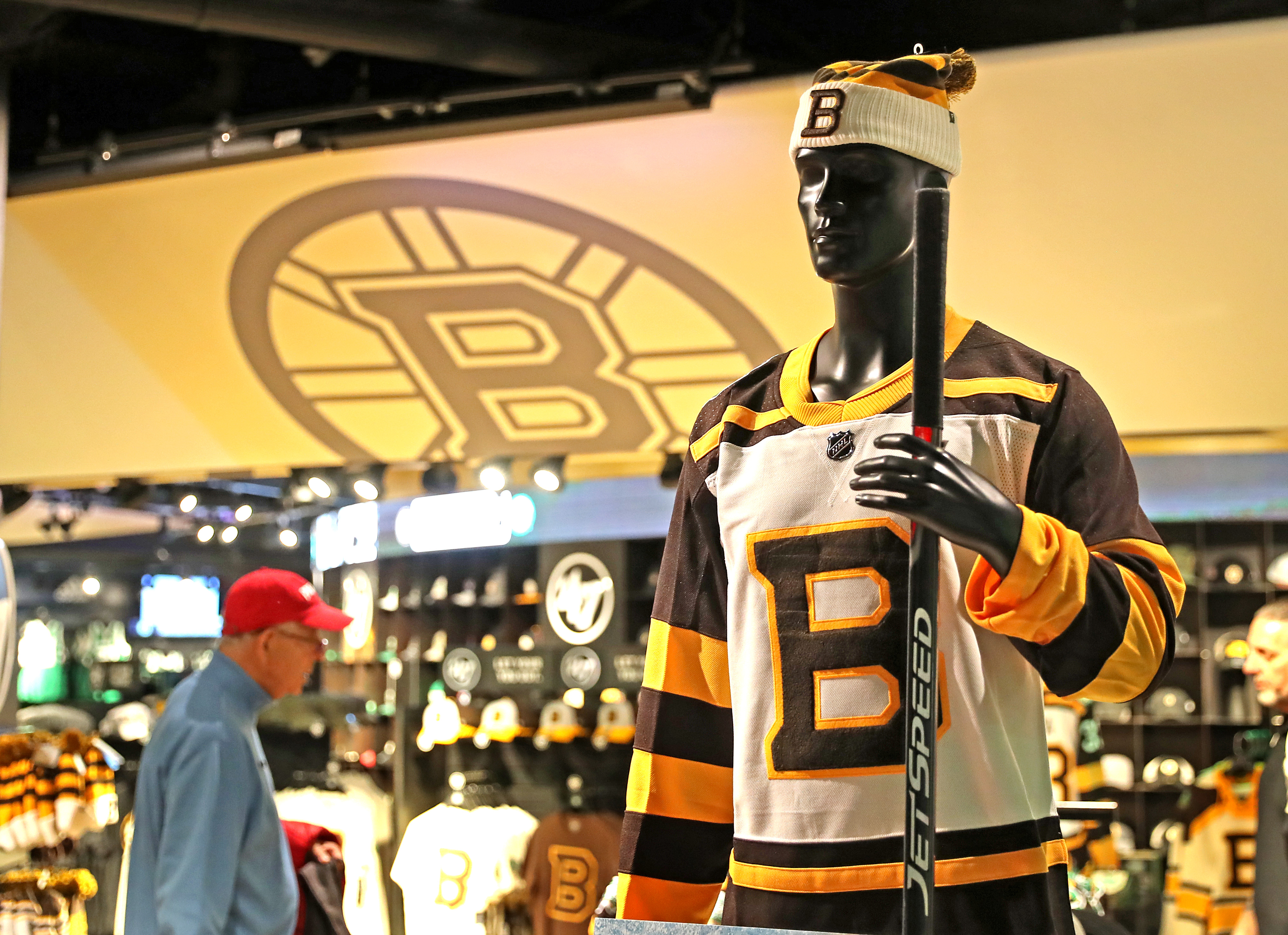 sneakers for cheap bec10 4a294 Bruins unveil 2019 Winter Classic jerseys - The Boston Globe