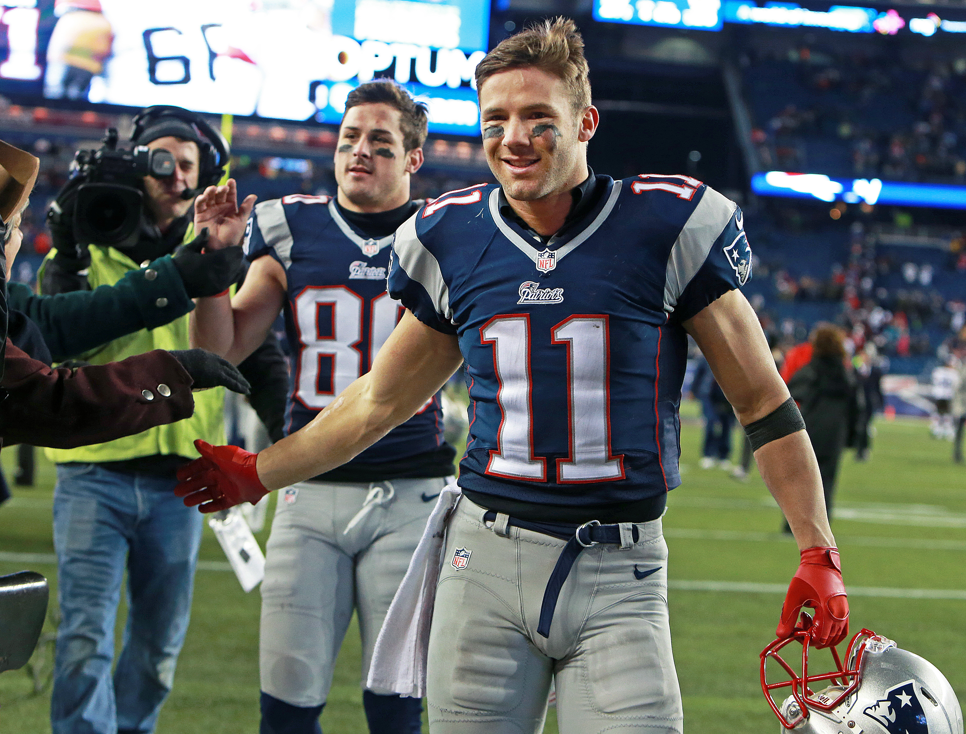 Julian Edelman agrees to deal with Patriots - The Boston Globe