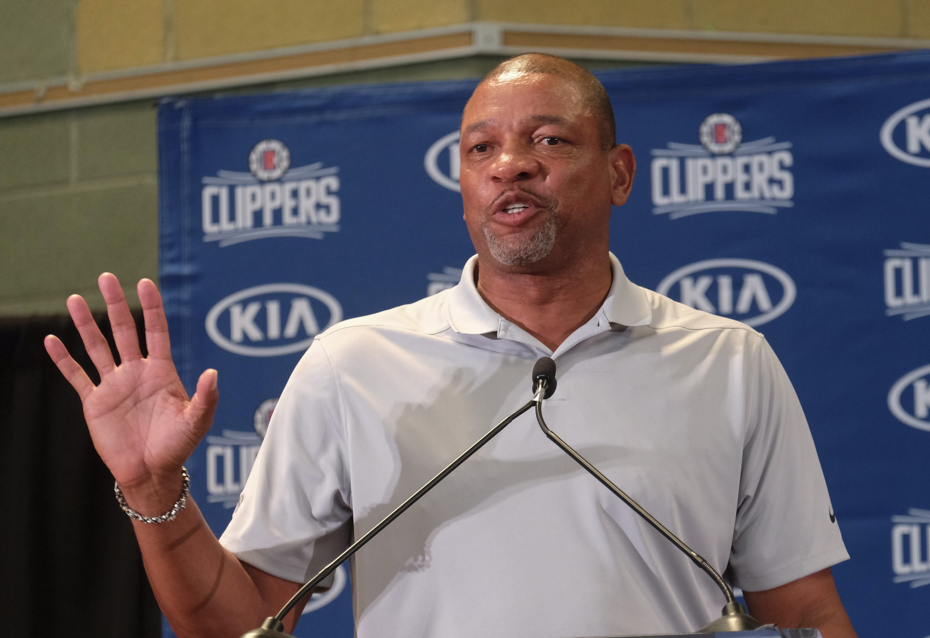 Why Doc Rivers is comfortable with target on Clippers' backs