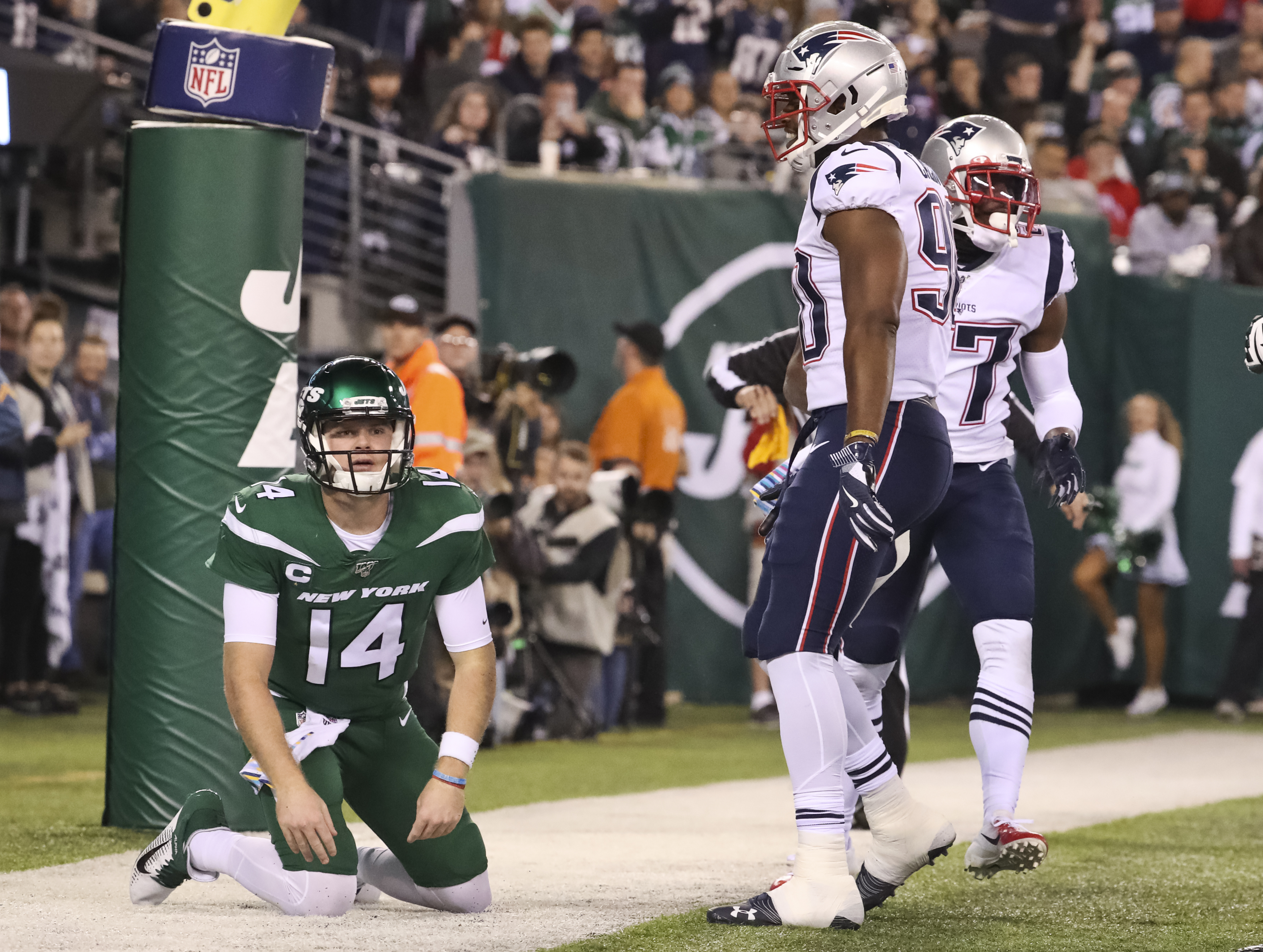 Sure, it was the Jets, but that was the best performance of the season