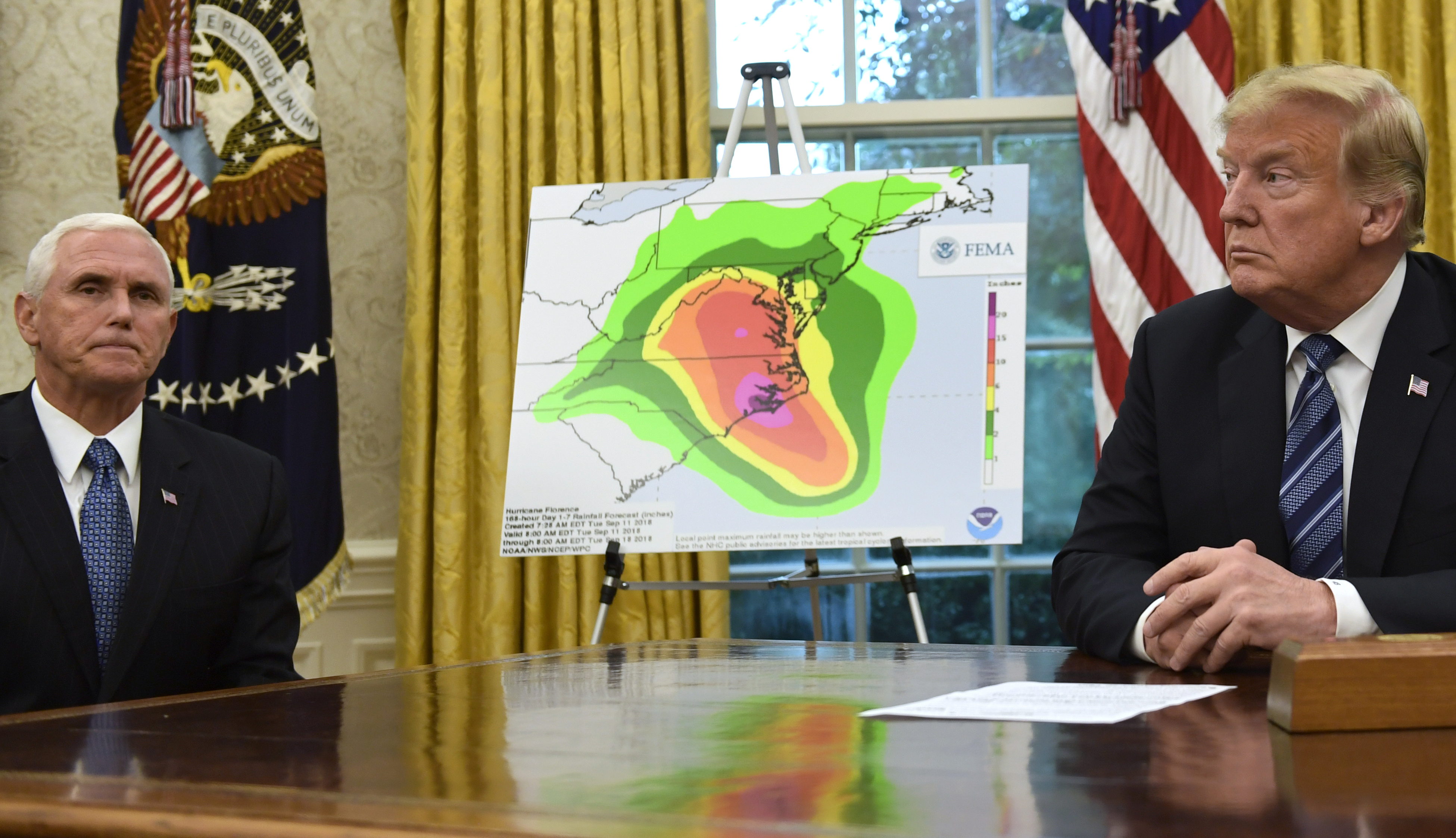 Image result for Trump reportedly recommended using nuclear bombs to stop hurricanes from hitting US