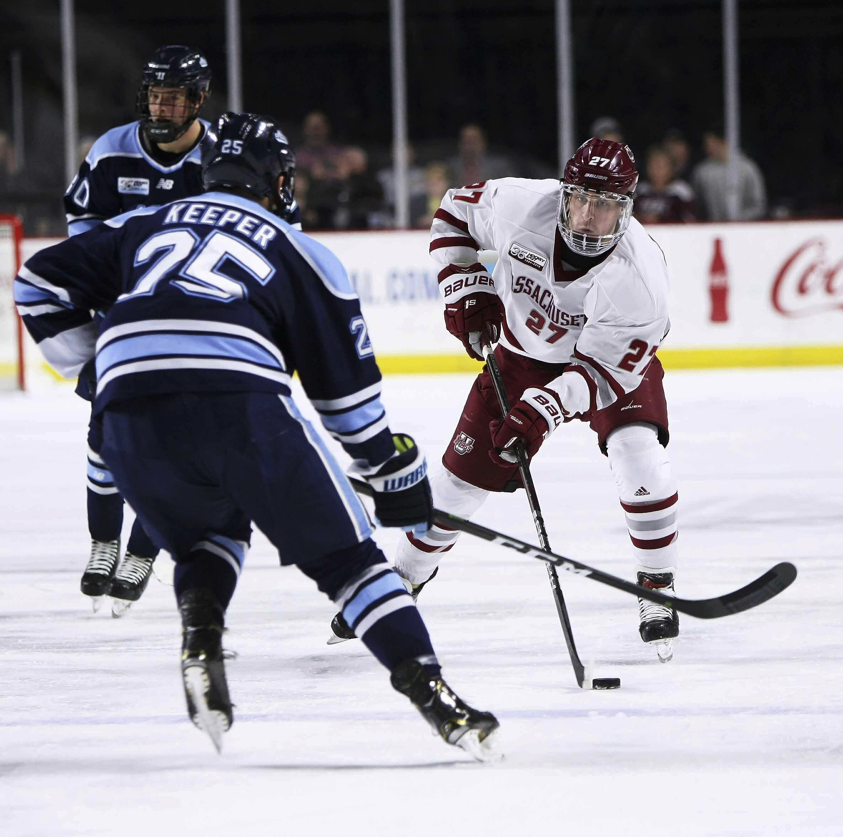 Umass To Meet Harvard Northeastern Takes On Cornell In Ncaa Hockey