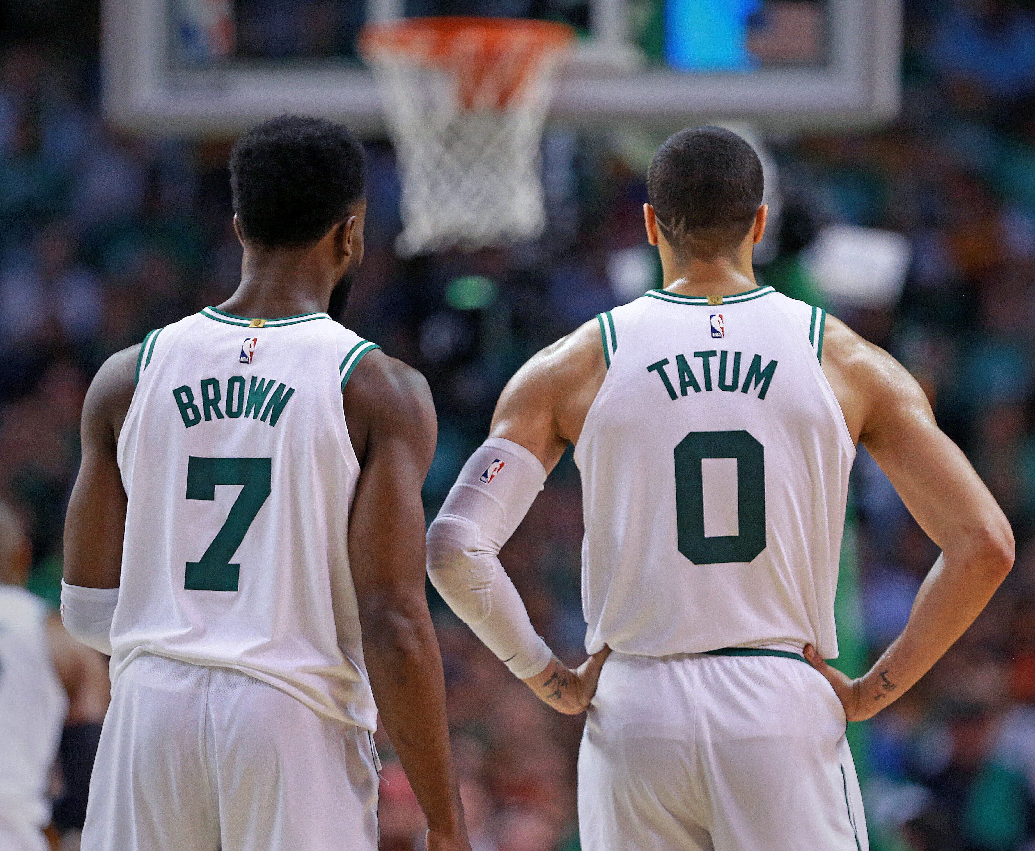 2c76d0e6fbe The great expectations of Jayson Tatum and Jaylen Brown - The Boston ...