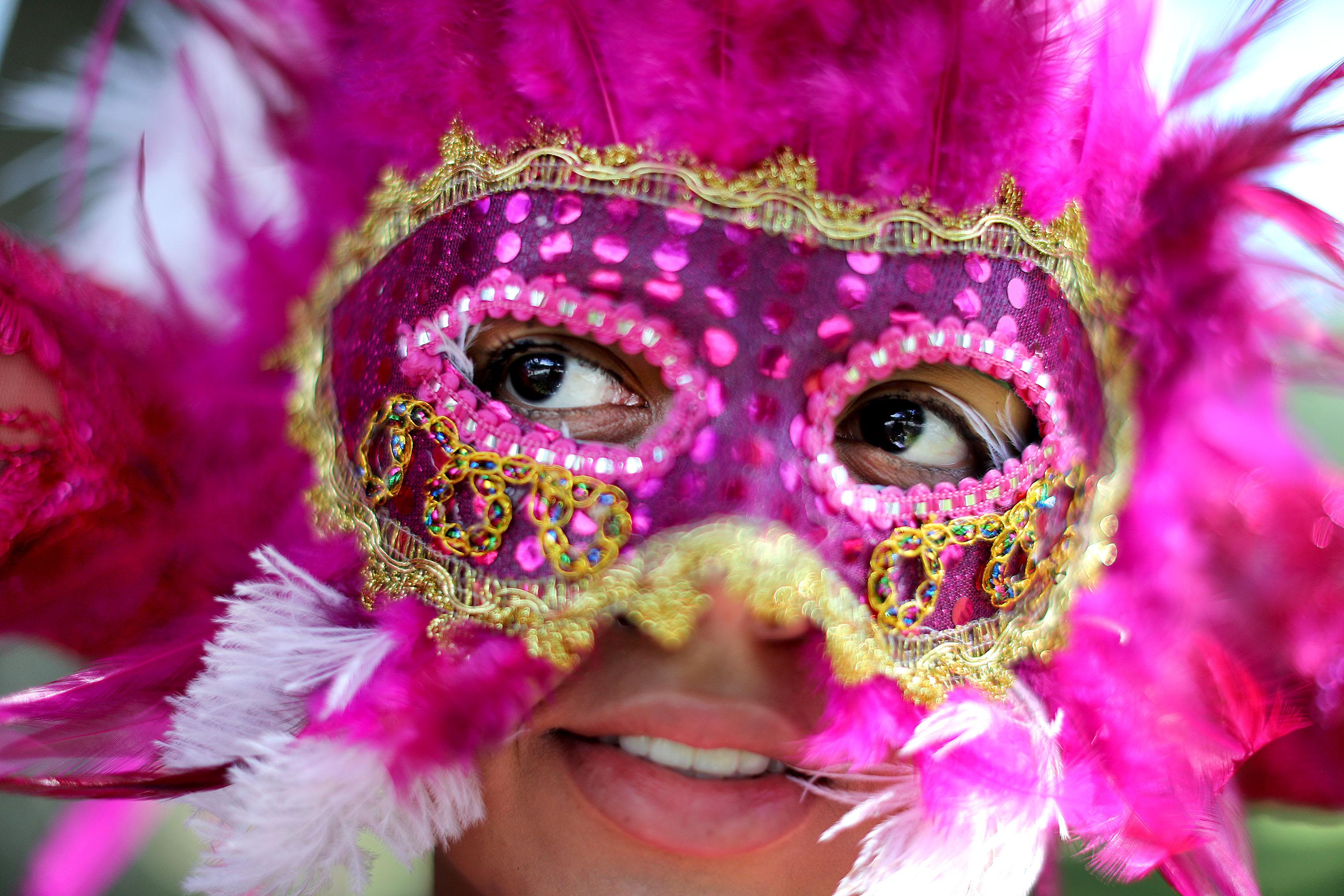 Photos from Boston's Caribbean Carnival parade