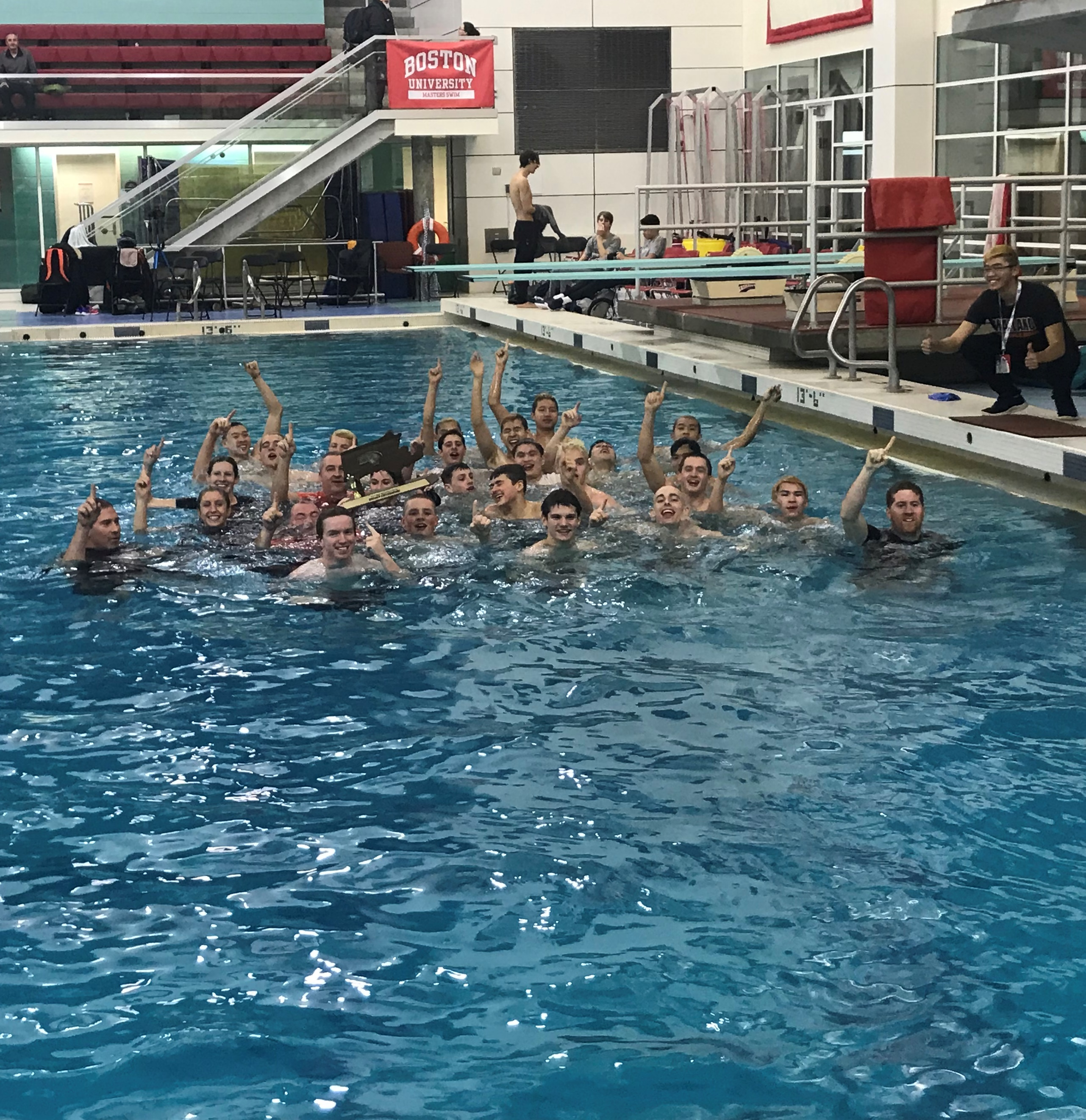St  John's Prep, Wayland boys' rule the pool in D1, D2 state