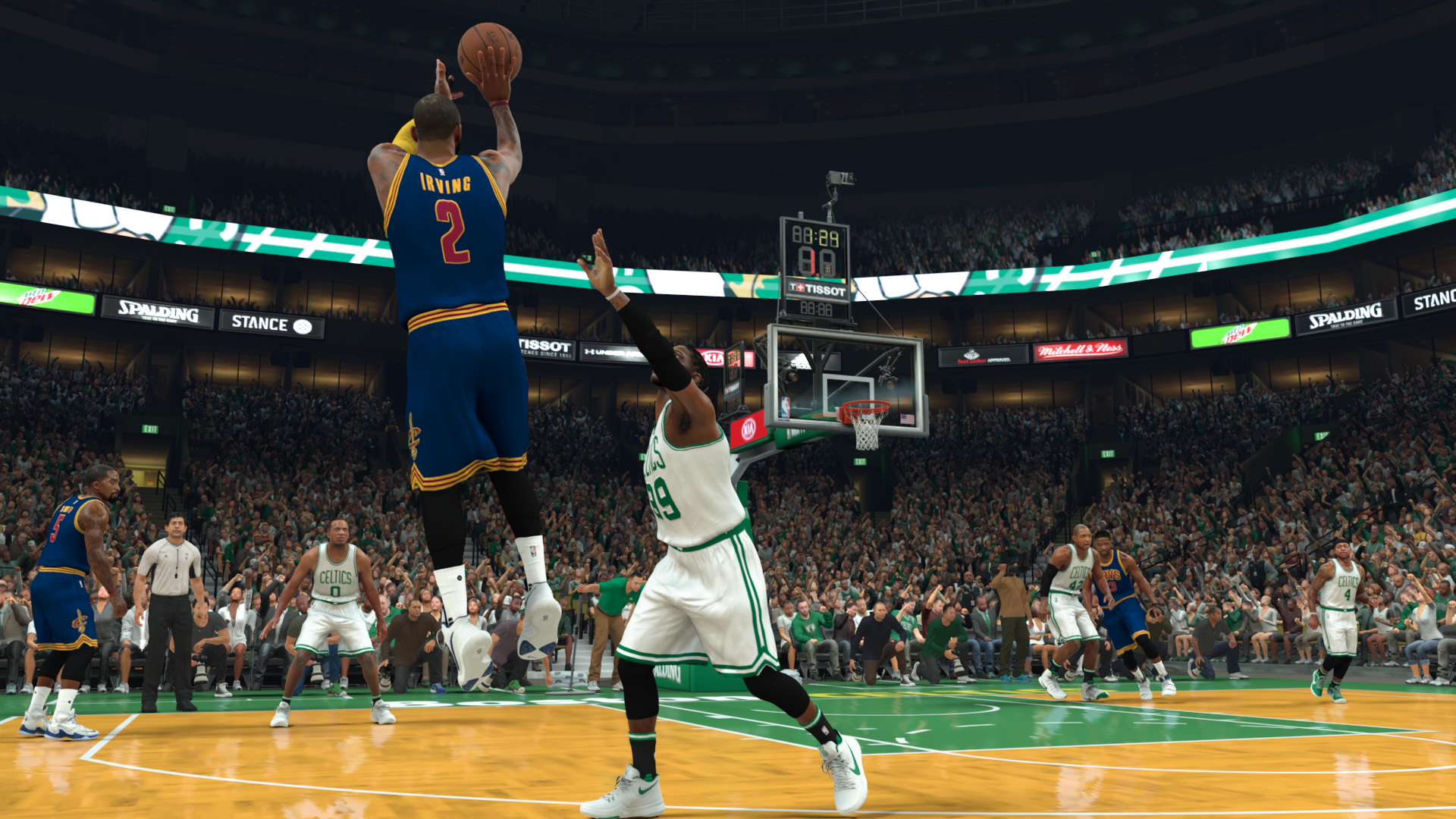 477e2412792 Kyrie Irving s moves defy even the laws of video games - The Boston Globe