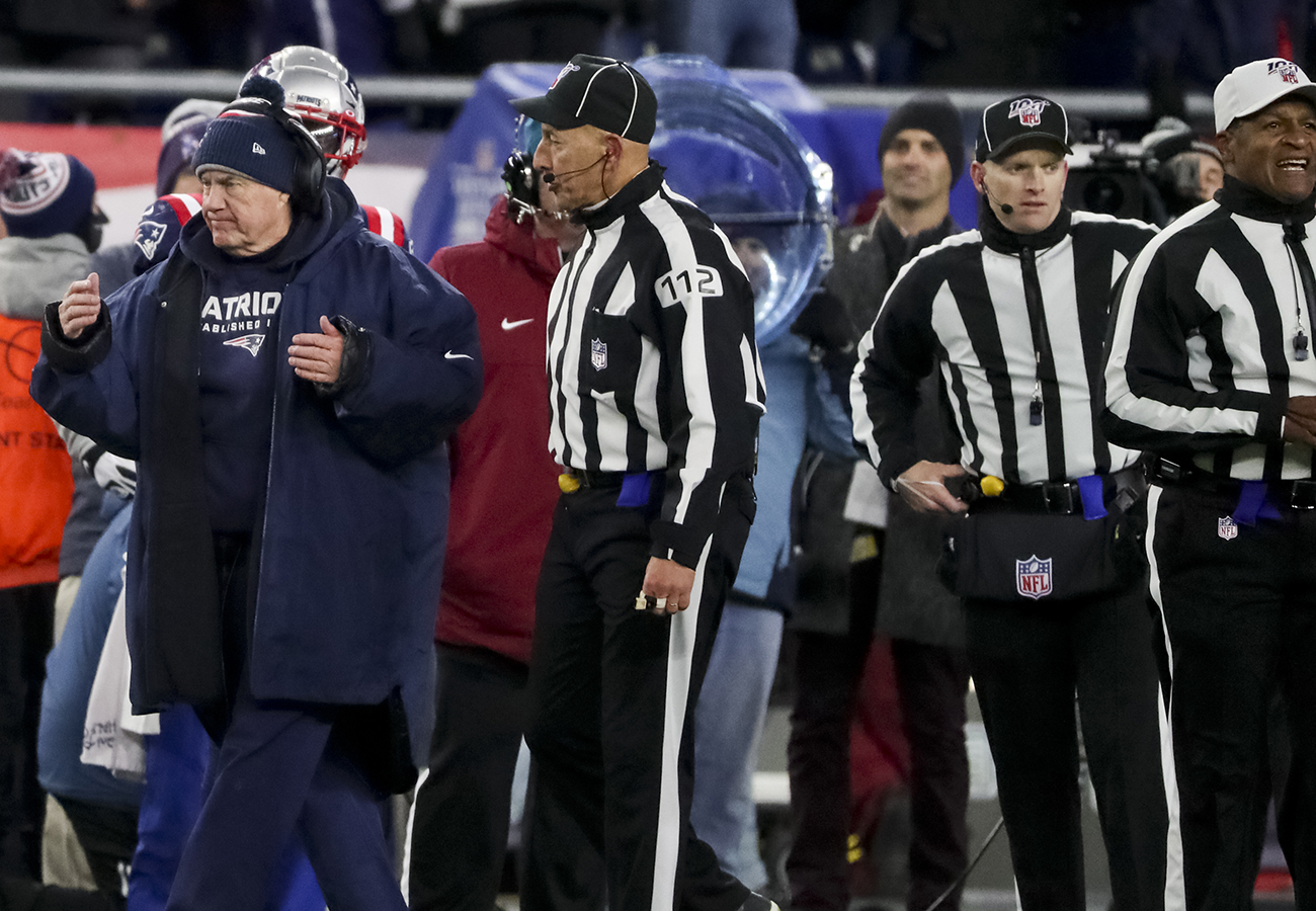Former NFL officials supervisor: Patriots-Chiefs crew was not up to league standards
