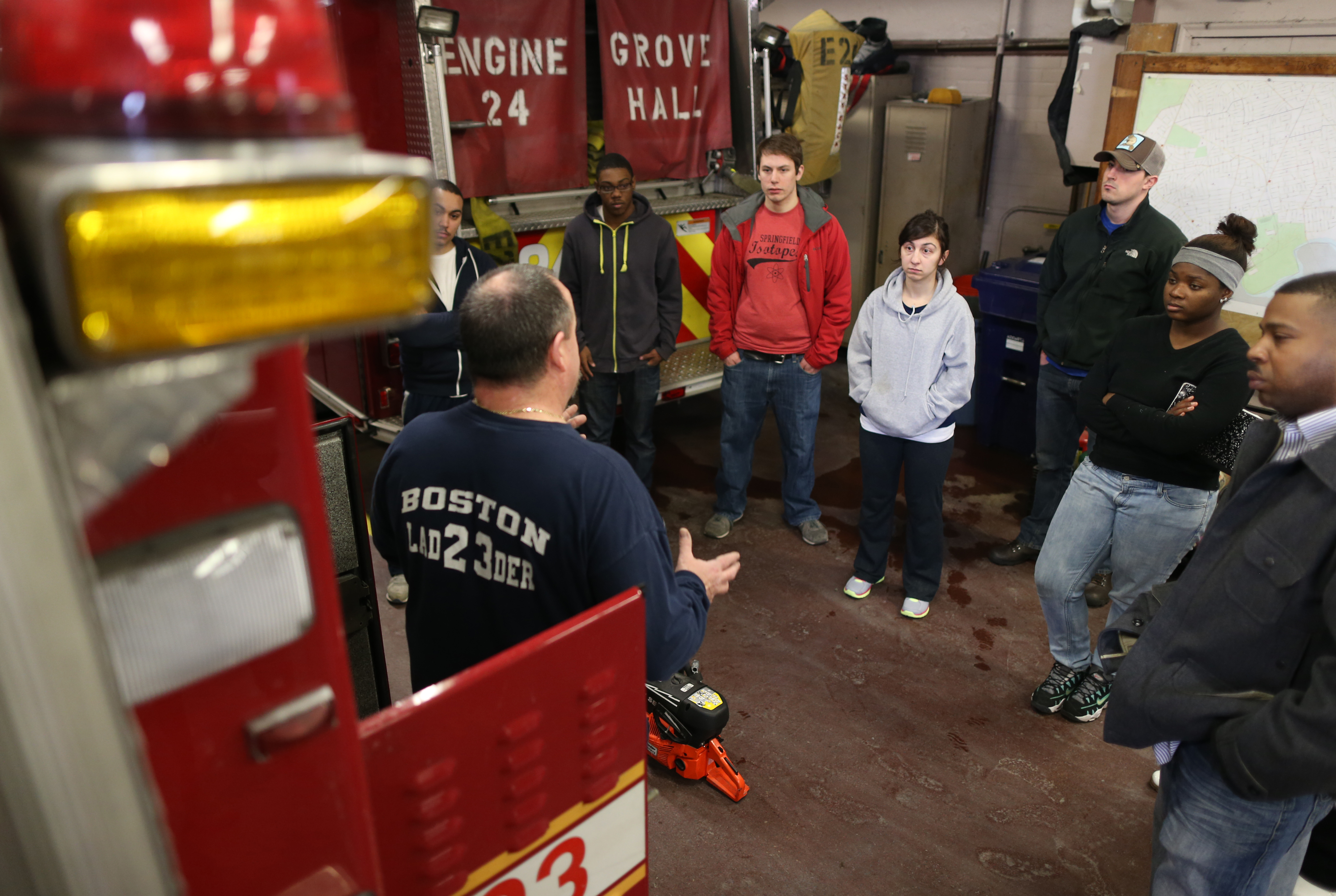 Boston fire's preference for veterans hurts minority hiring