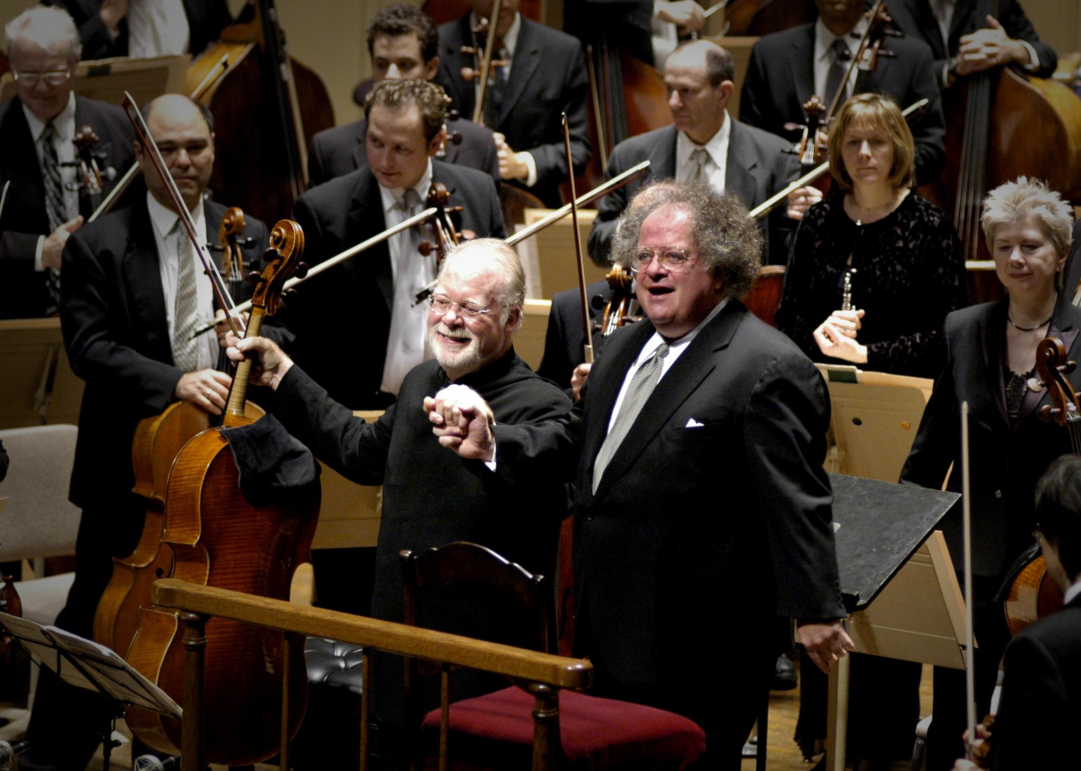 In the maestro's thrall - The Boston Globe