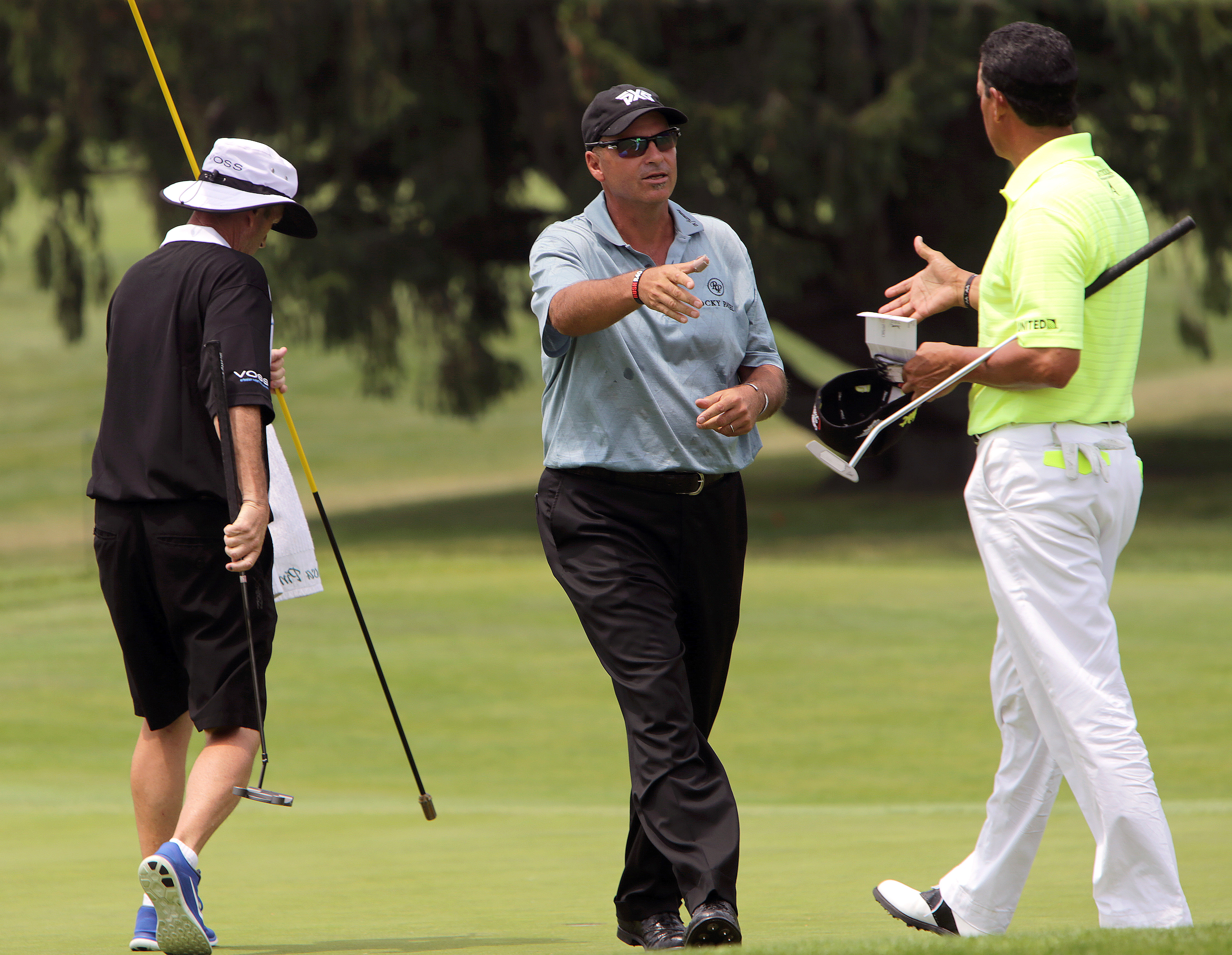 Fit And Motivated Rocco Mediate Starts Strong The Boston