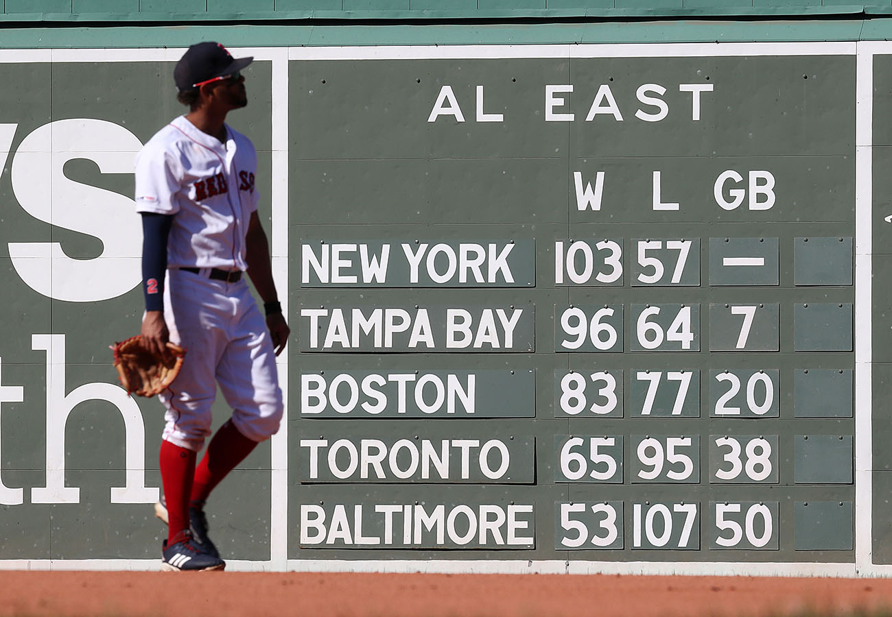 A bad year for the Red Sox isn't getting any better in October