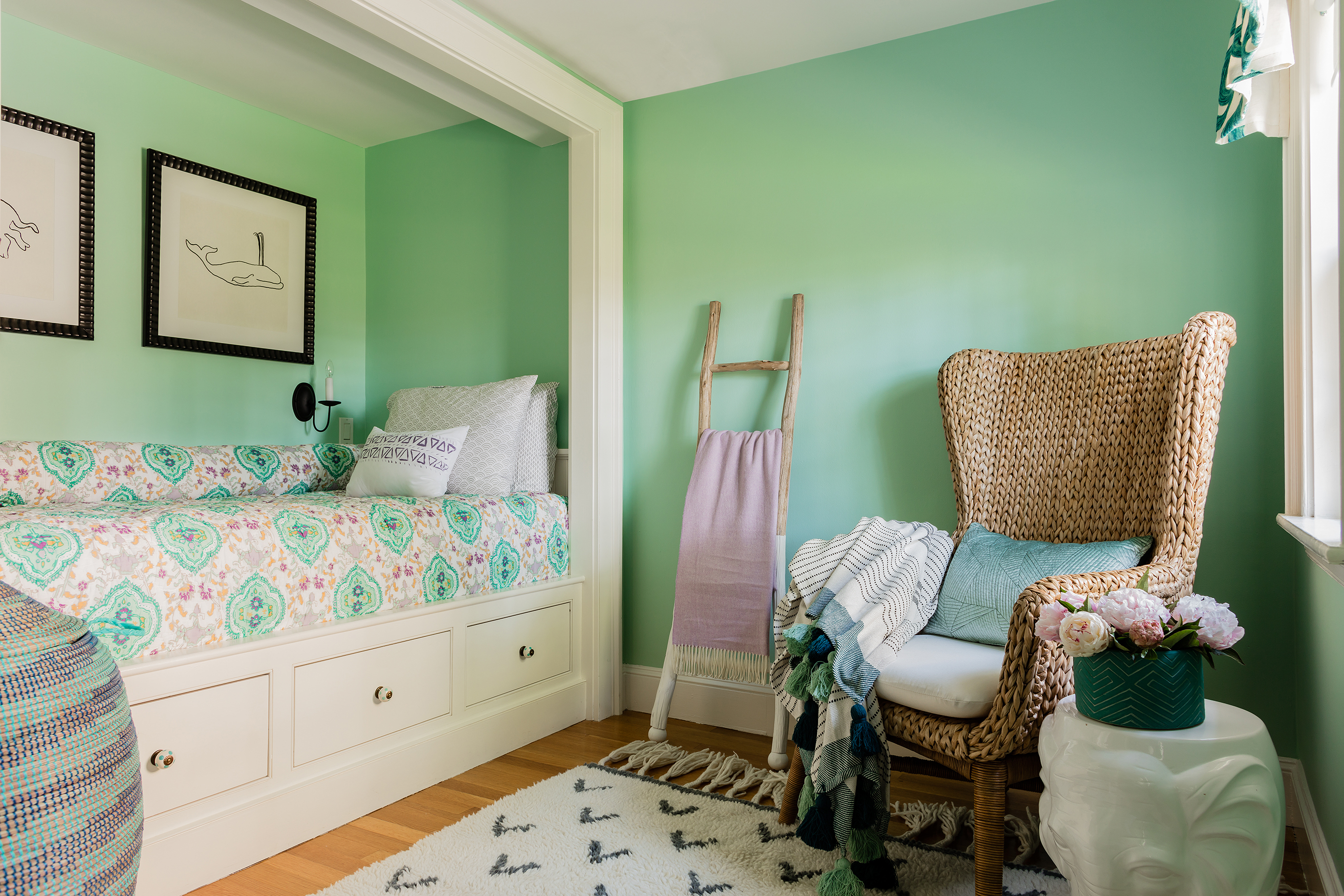 Designing a girl's bedroom that she'll love as she grows