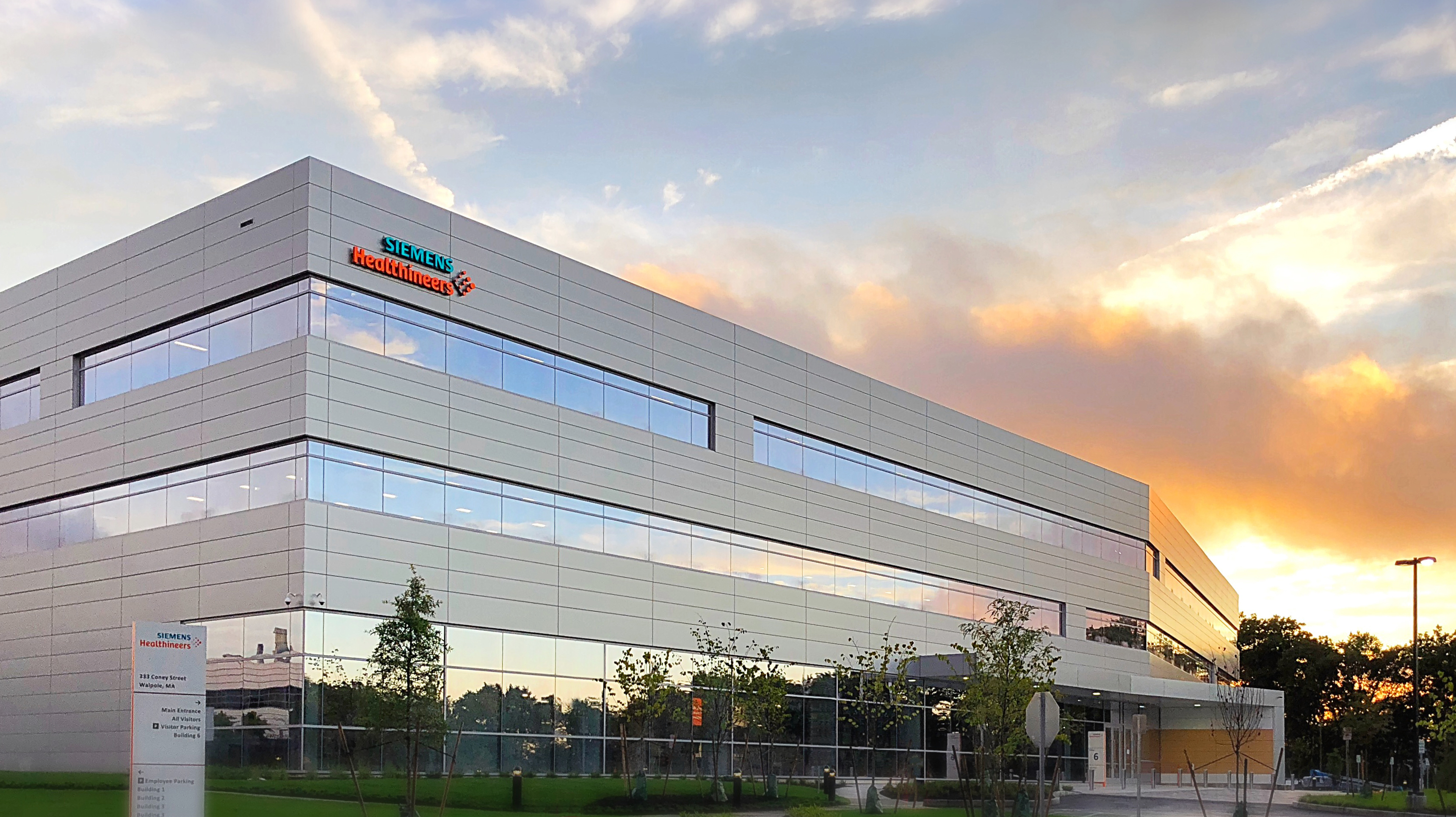 Siemens unveils $300 million facility in Walpole - The