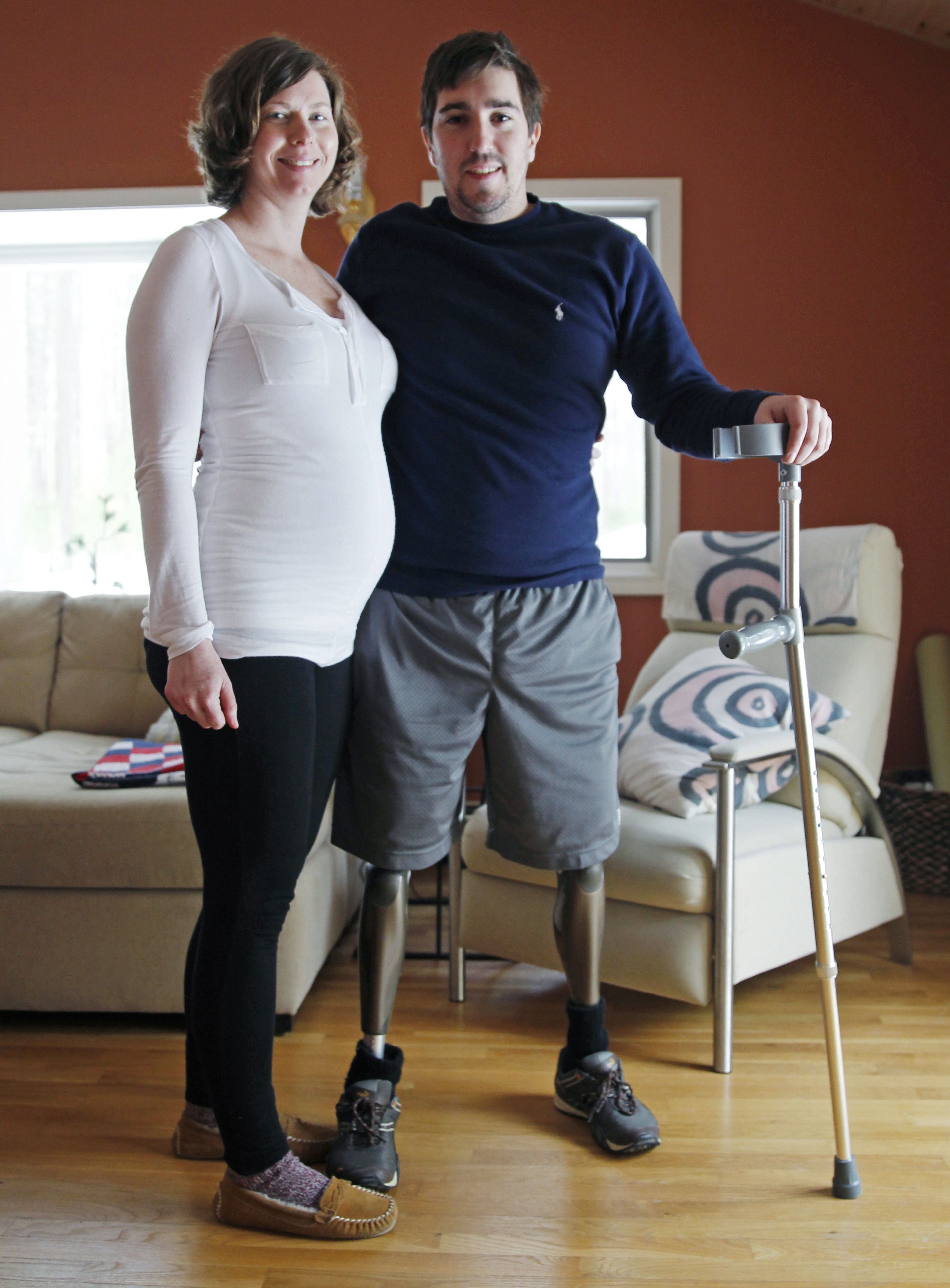 eb71deff61f4 Jeff Bauman, Erin Hurley engaged and expecting first child - The ...