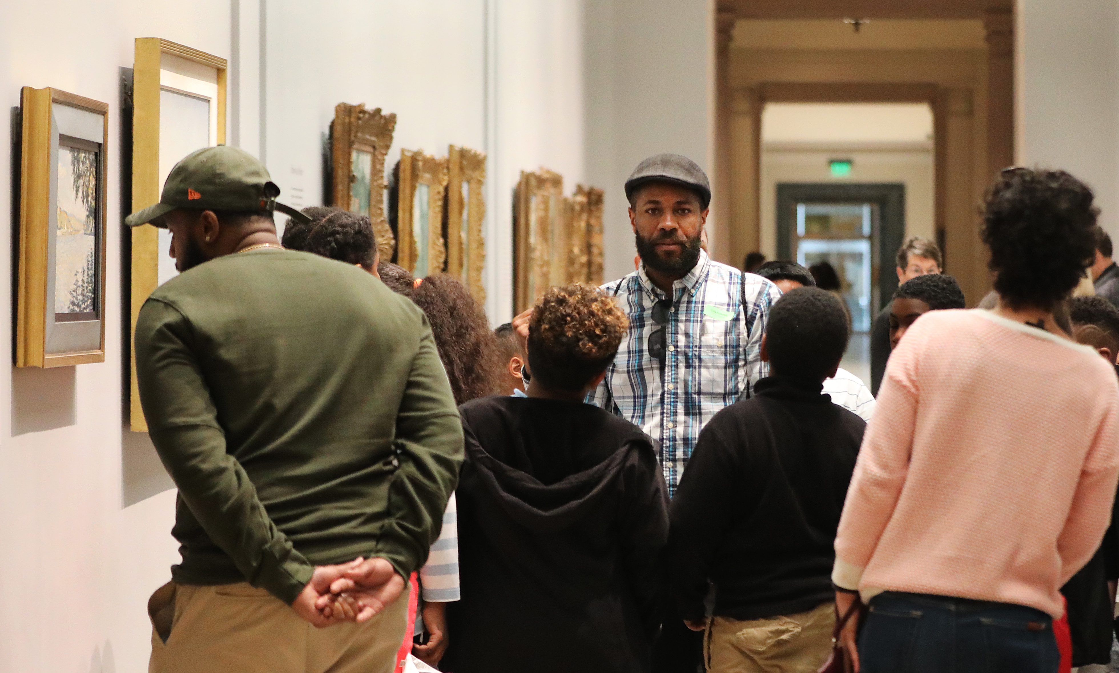 Yes, black people belong at the MFA