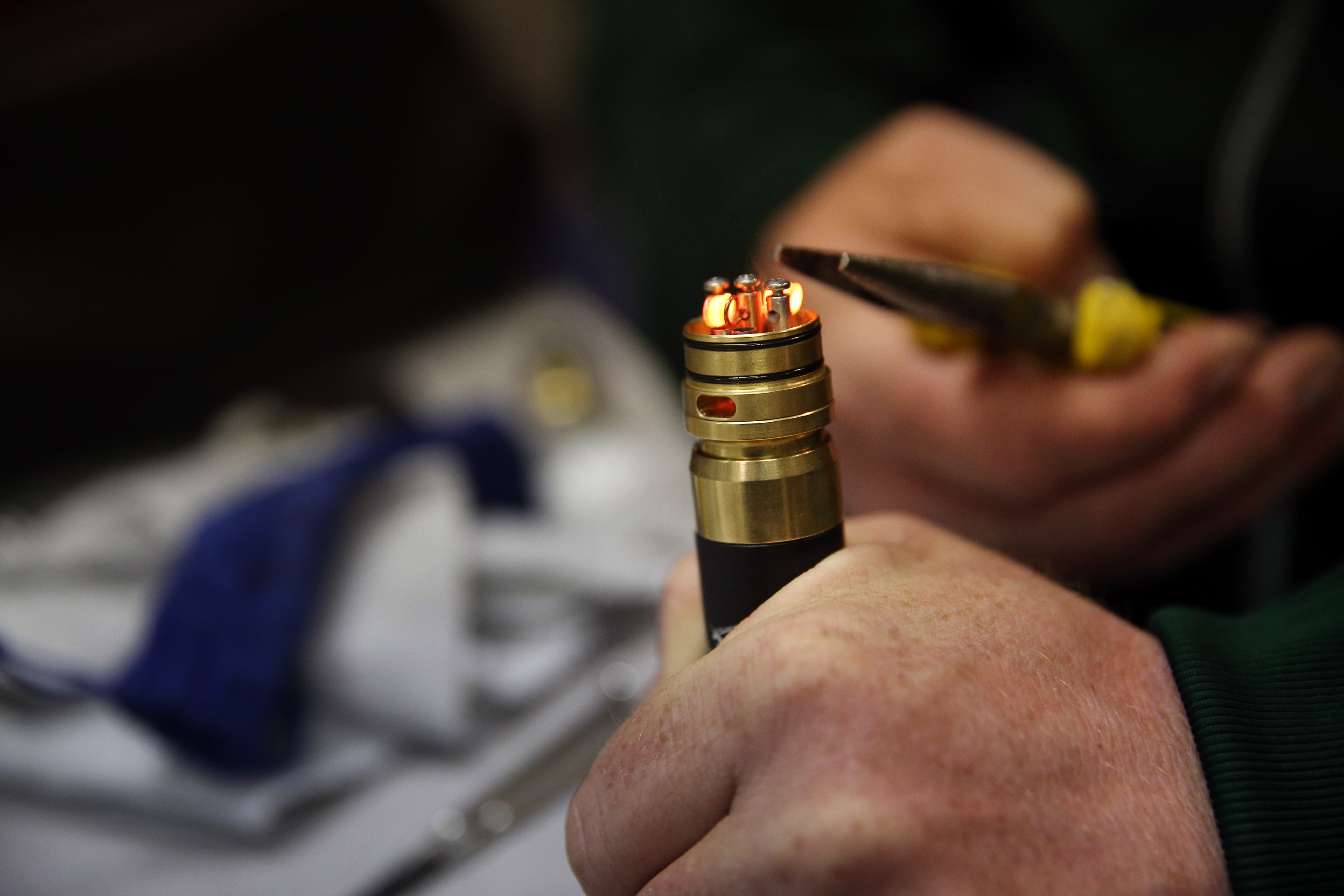 At 'vape' competitions, it's all about community - The Boston Globe
