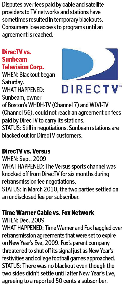 Super Bowl may be blacked out for DirecTV customers - The