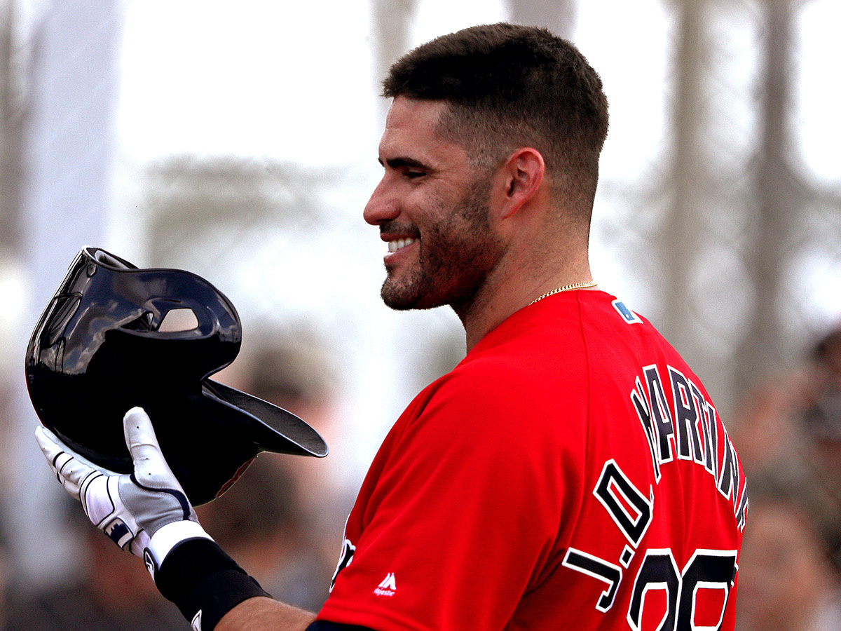 Agent reiterates chief factors in J.D. Martinez staying with Red Sox