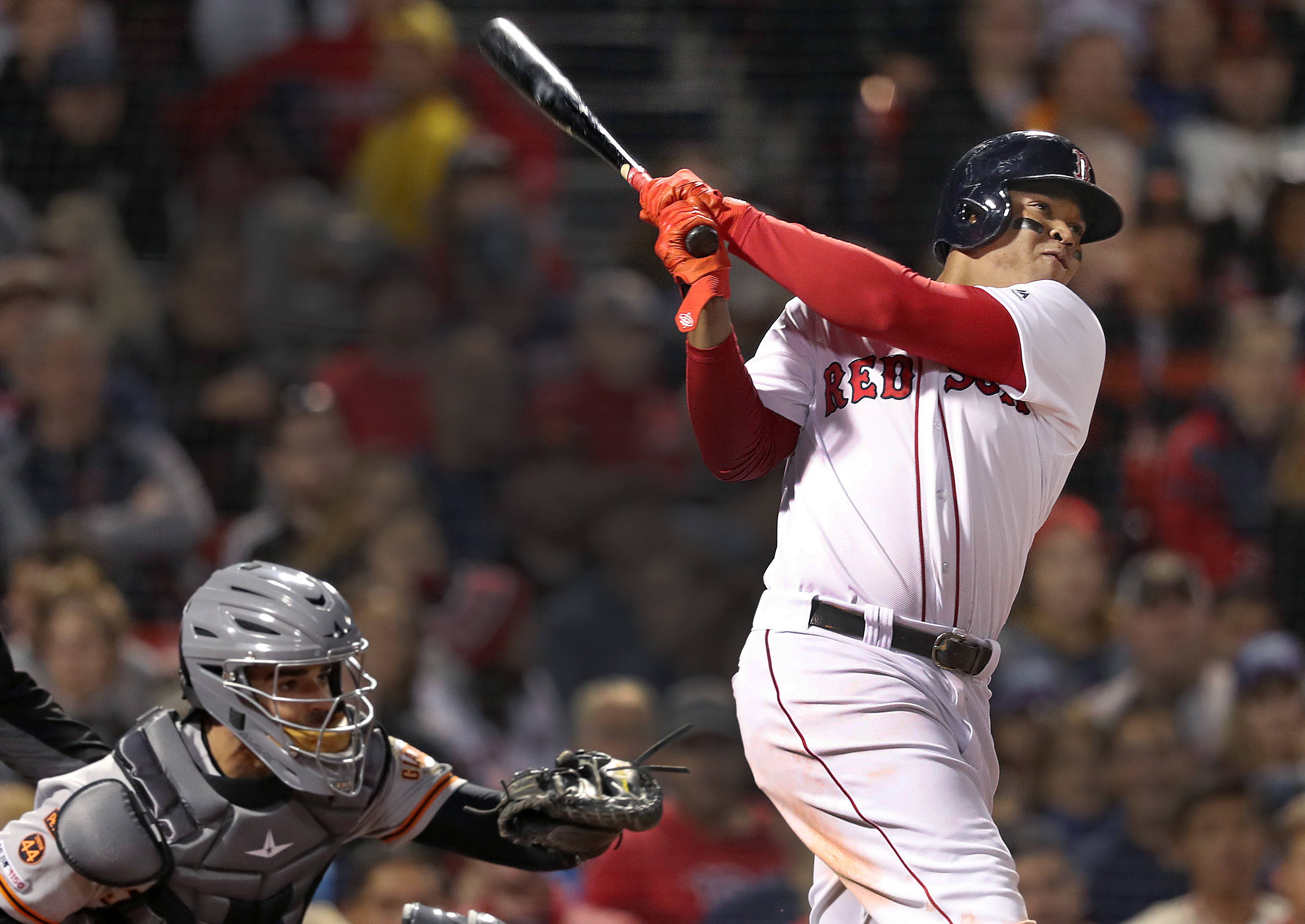 Rafael Devers named an AL finalist for 2019 Players Choice Awards