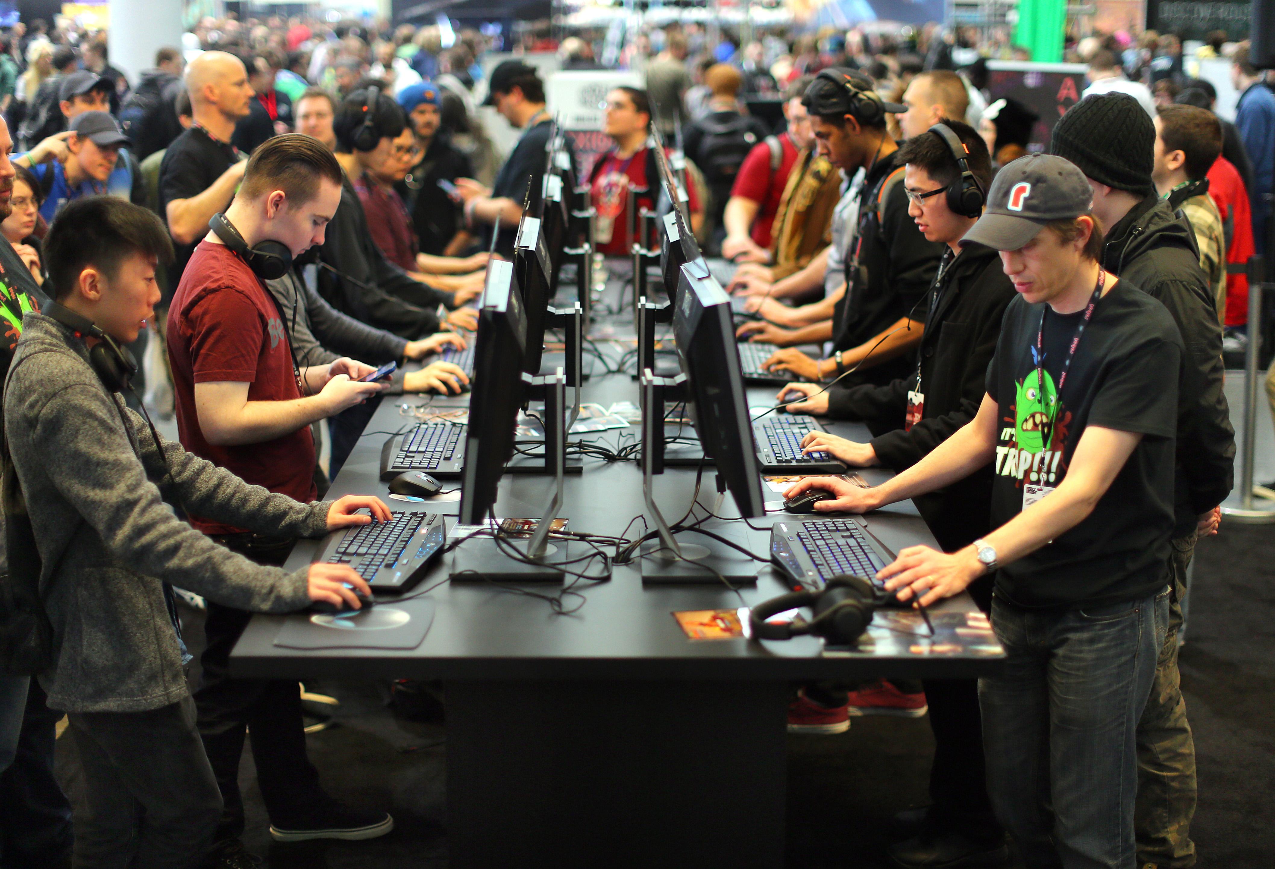 Video gaming's Final Four hits Boston - The Boston Globe